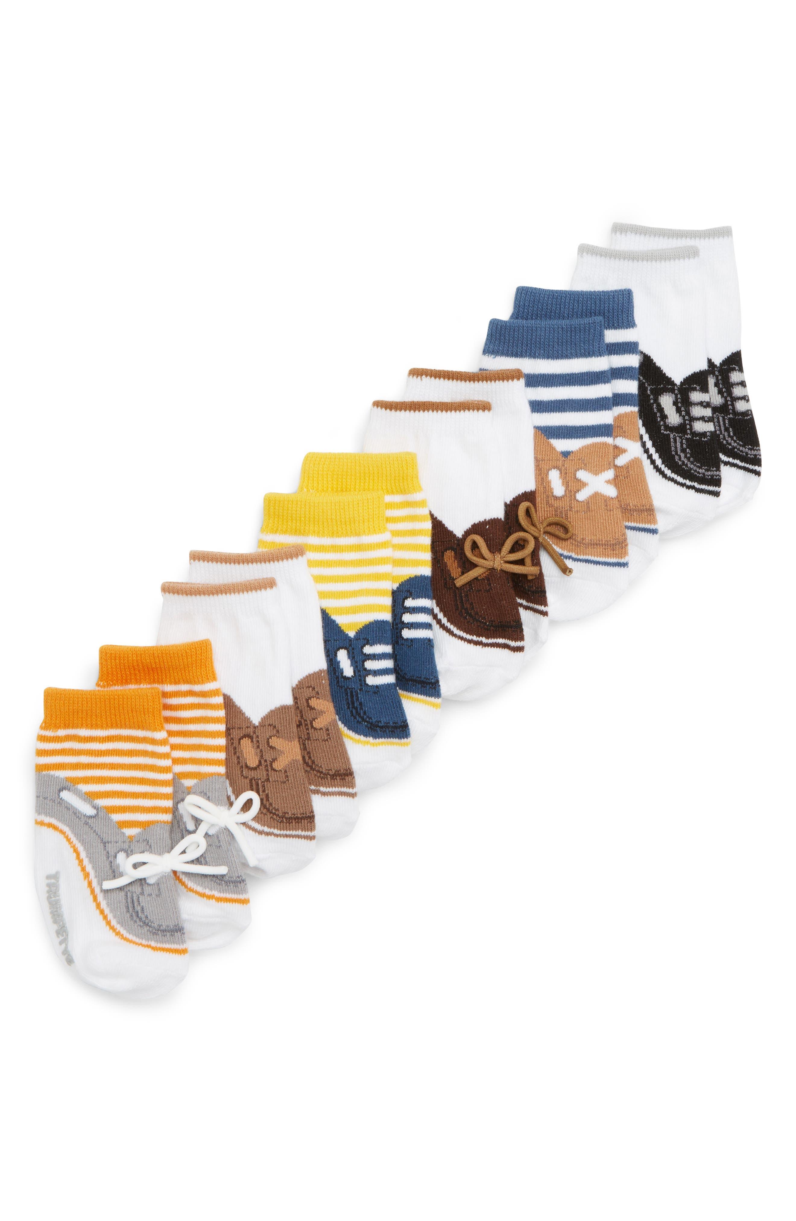 Noah 6-Pack Socks,                             Alternate thumbnail 2, color,                             ASSORTED NEUTRAL