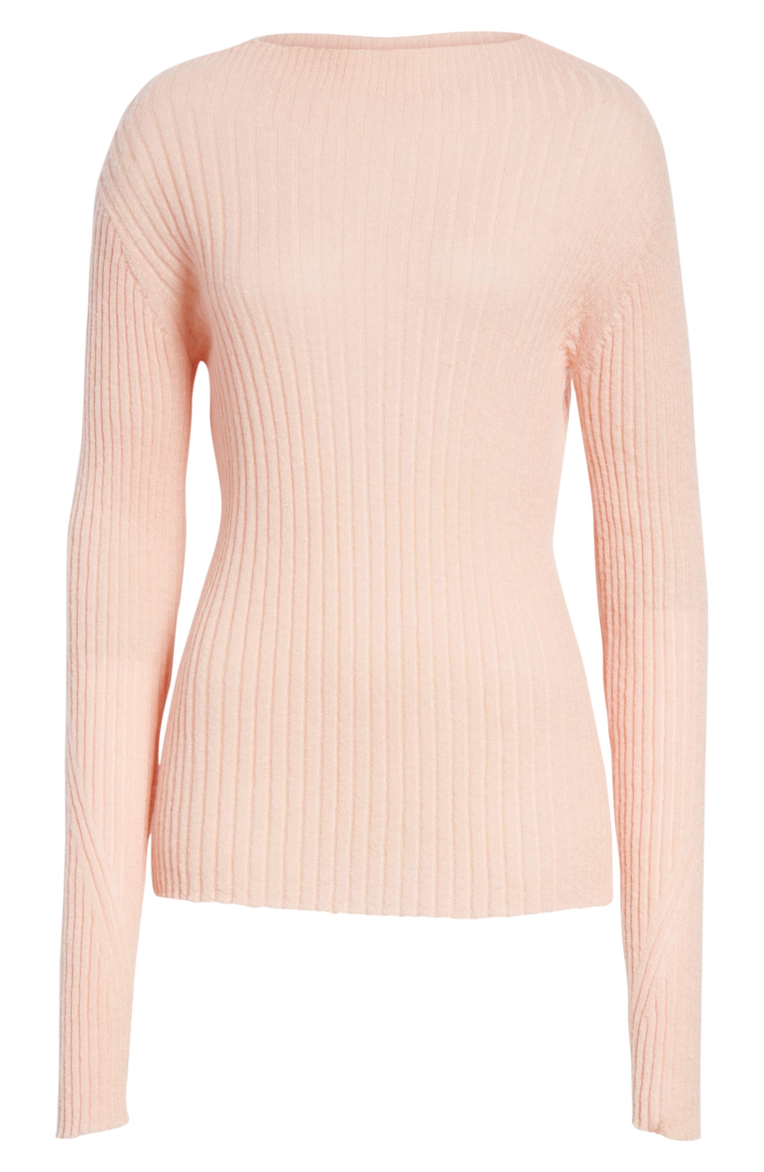 Donna Mohair Blend Sweater,                             Alternate thumbnail 6, color,                             950