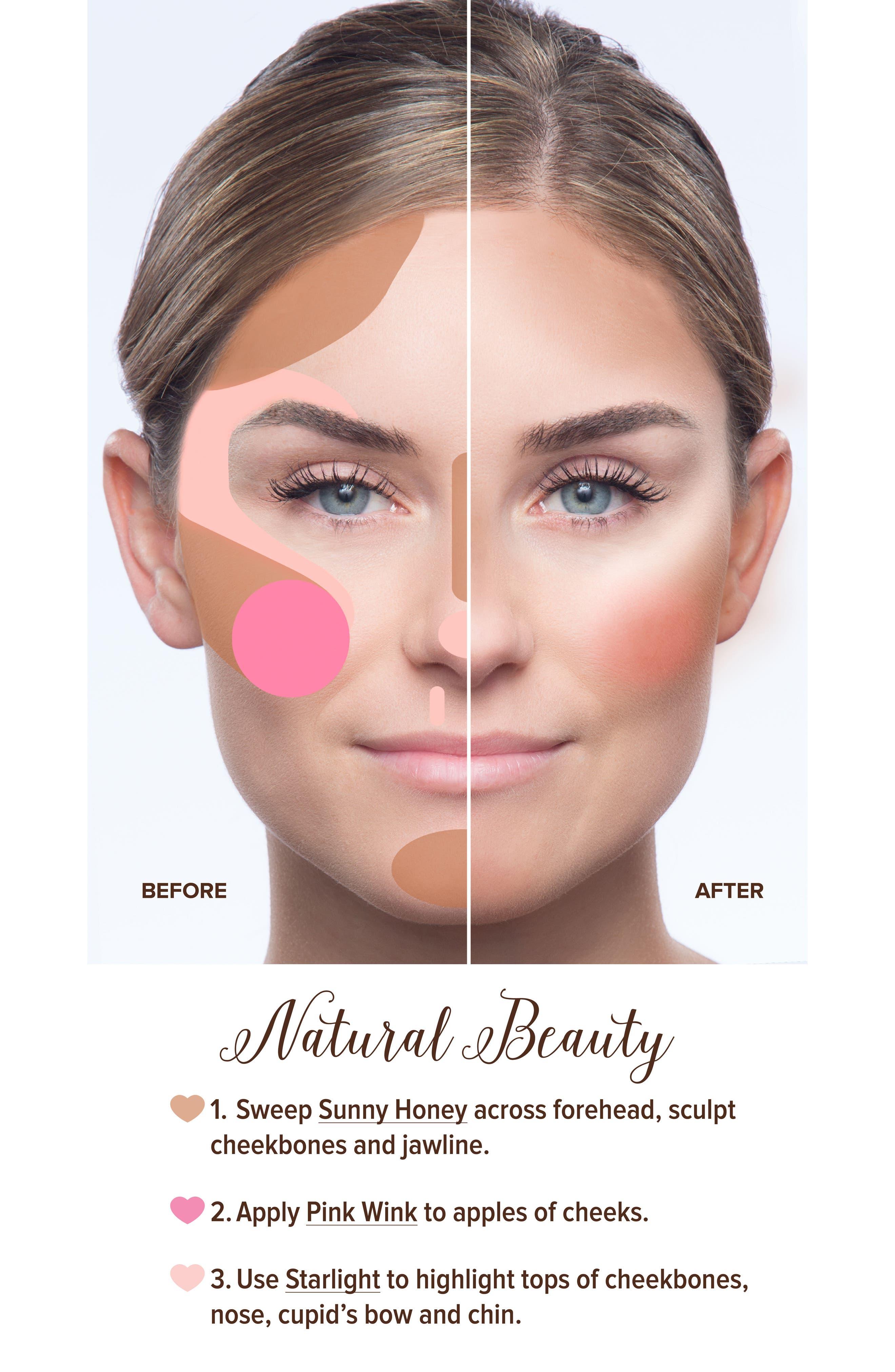 Natural Face Palette,                             Alternate thumbnail 7, color,                             NO COLOR