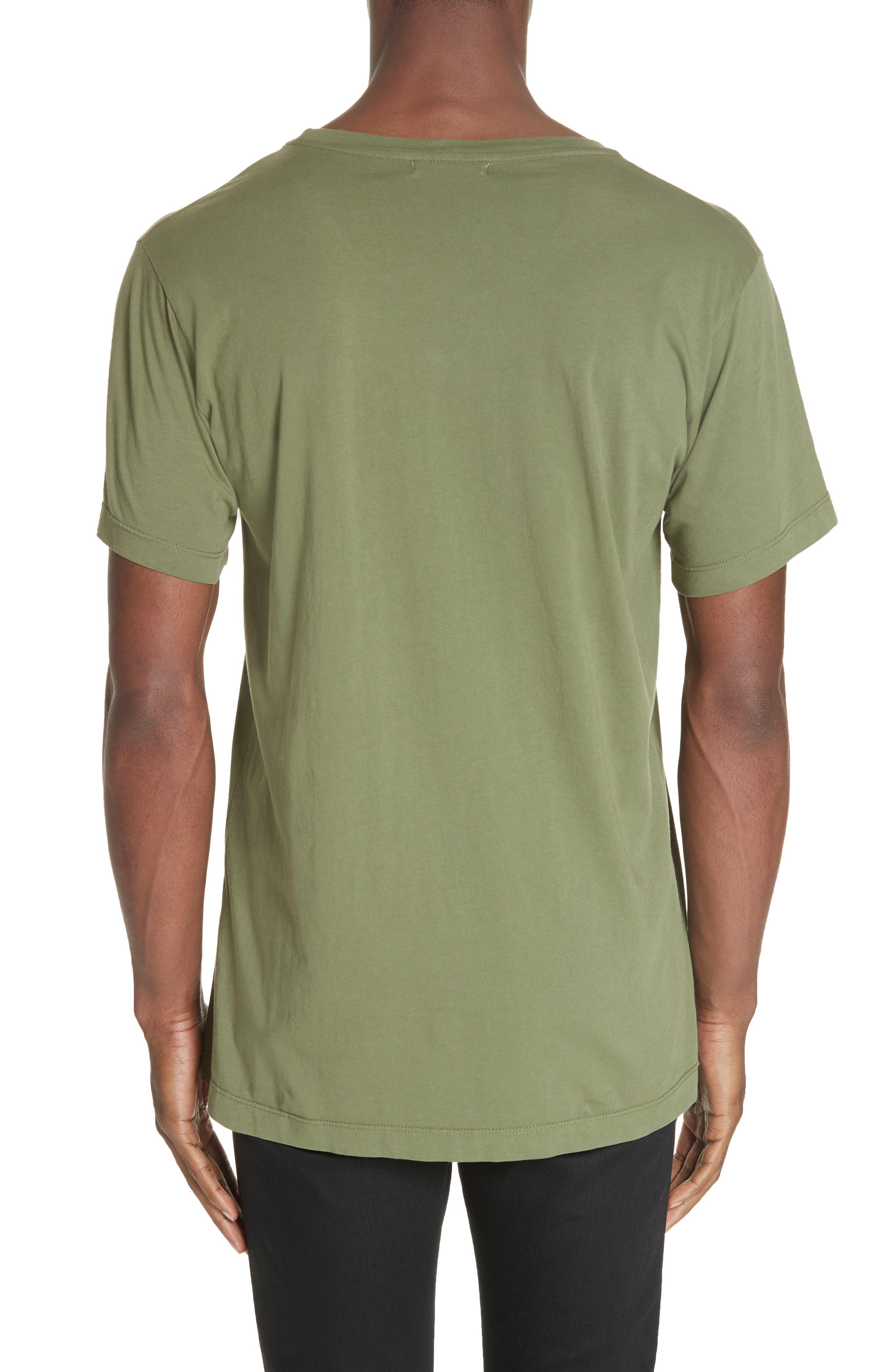 Cotton Classic Crew T-Shirt,                             Alternate thumbnail 2, color,                             301