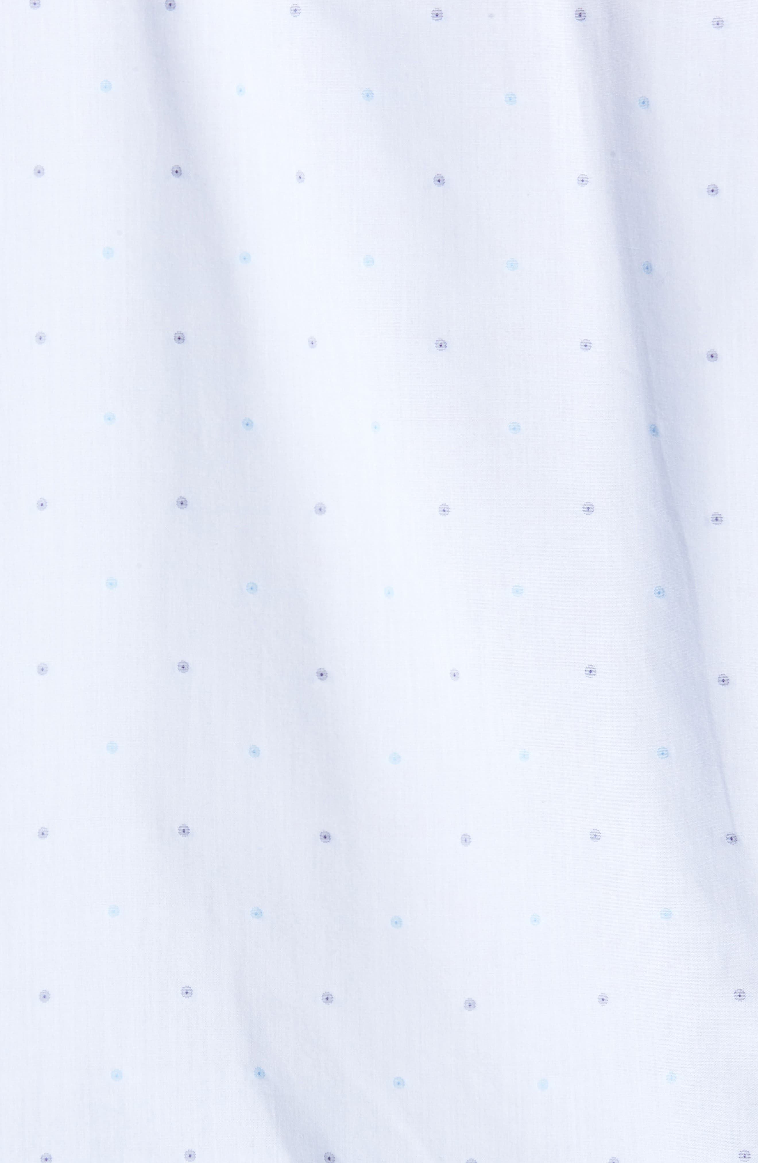 Regular Fit Dot Sport Shirt,                             Alternate thumbnail 5, color,