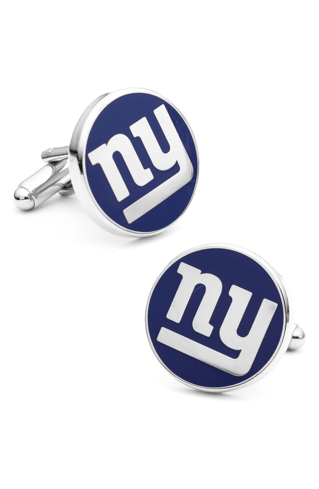 New York Giants Cuff Links,                             Main thumbnail 1, color,                             BLUE