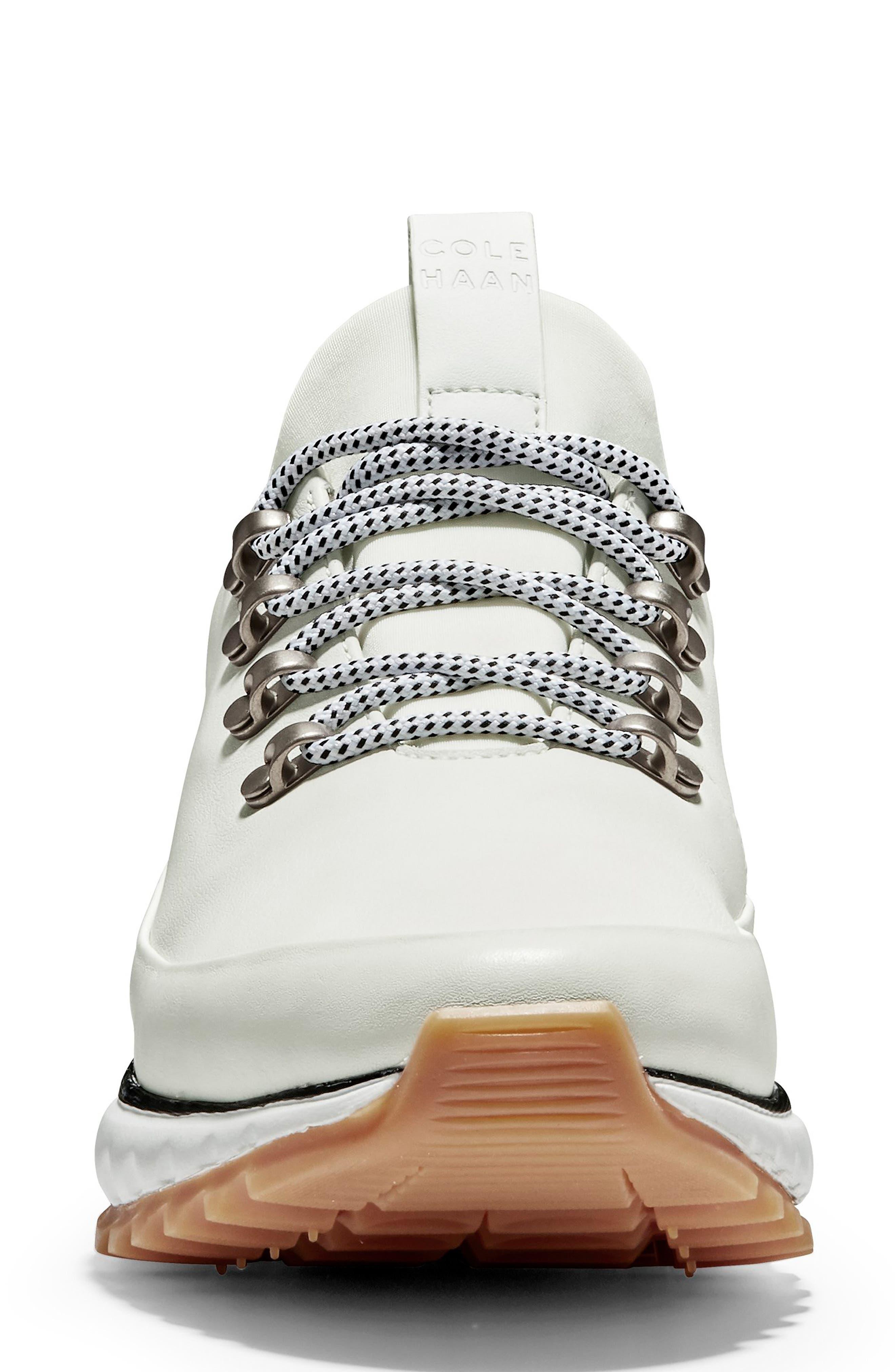 GrandExplore All Terrain Waterproof Sneaker,                             Alternate thumbnail 4, color,                             OPTIC WHITE WATERPROOF LEATHER