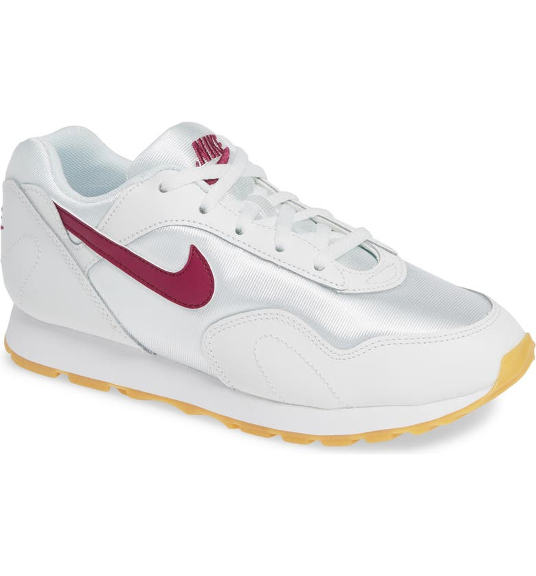 separation shoes 10efd 8d3a8 Nike Women S Outburst Low-Top Sneakers In Summit White True Berry-Gum Yellow