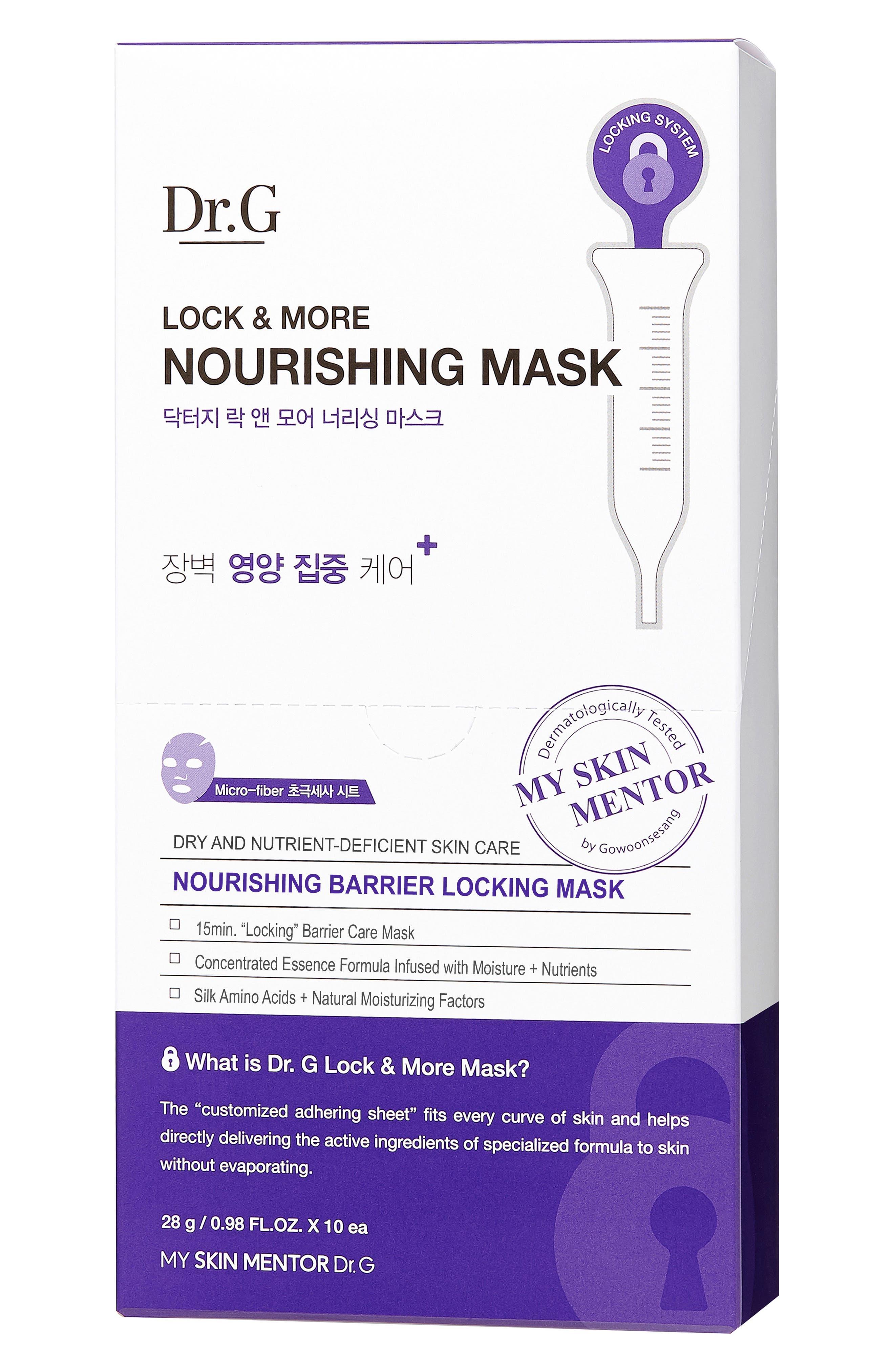 Lock & More Nourishing Mask,                             Alternate thumbnail 2, color,                             000