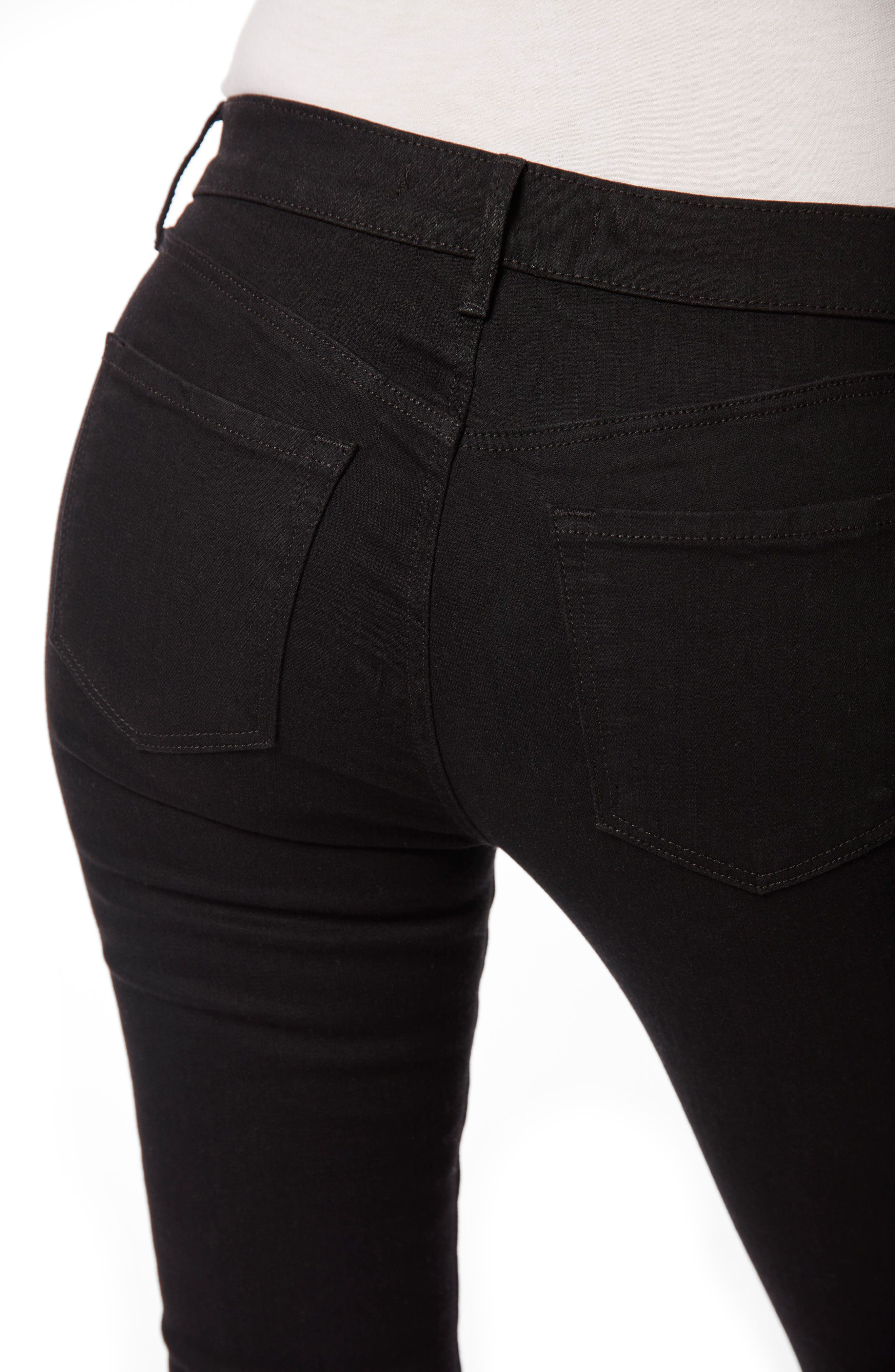 '811' Mid Rise Skinny Jeans,                             Alternate thumbnail 8, color,