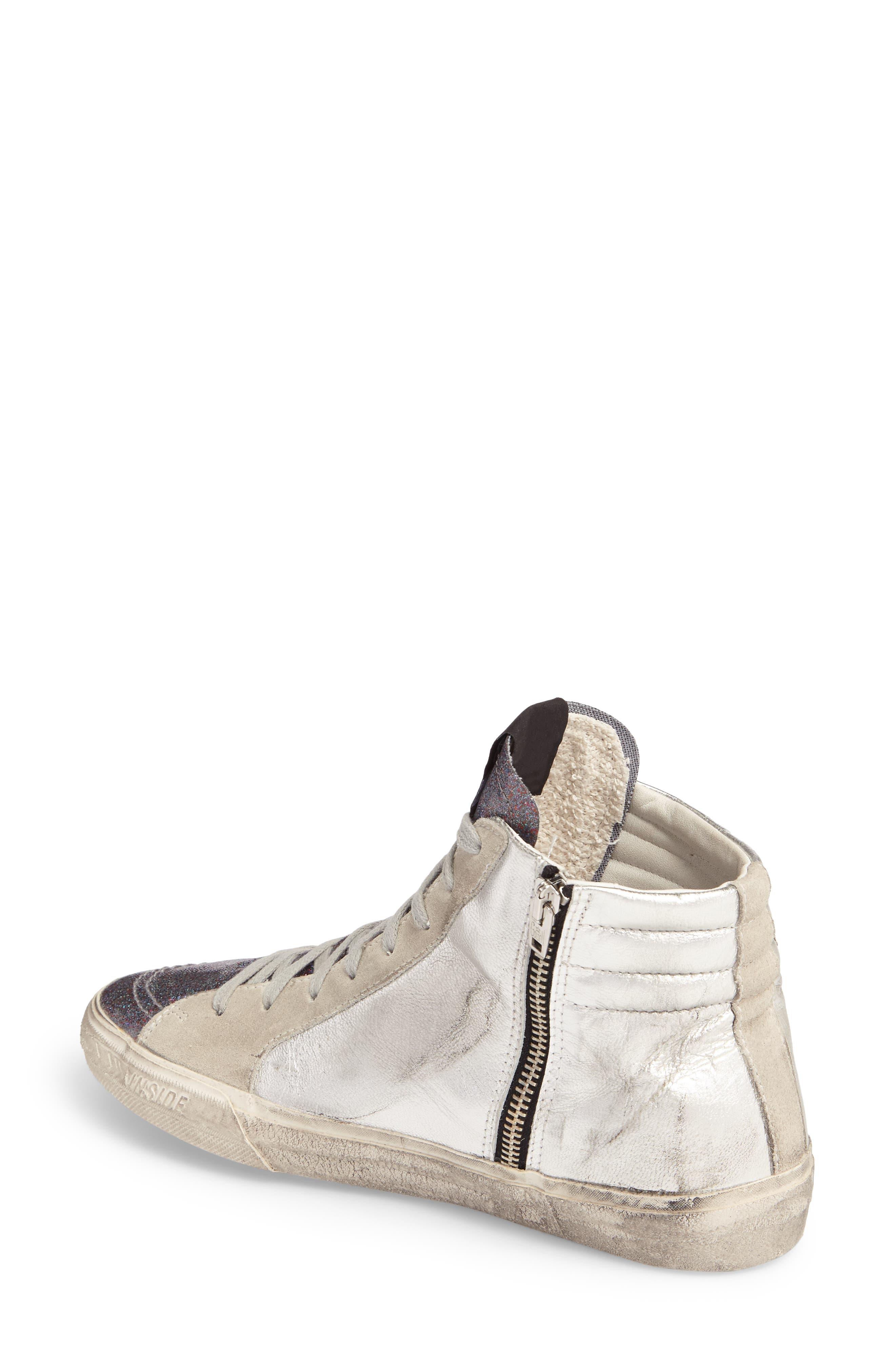 Slide High Top Sneaker,                             Alternate thumbnail 2, color,                             040