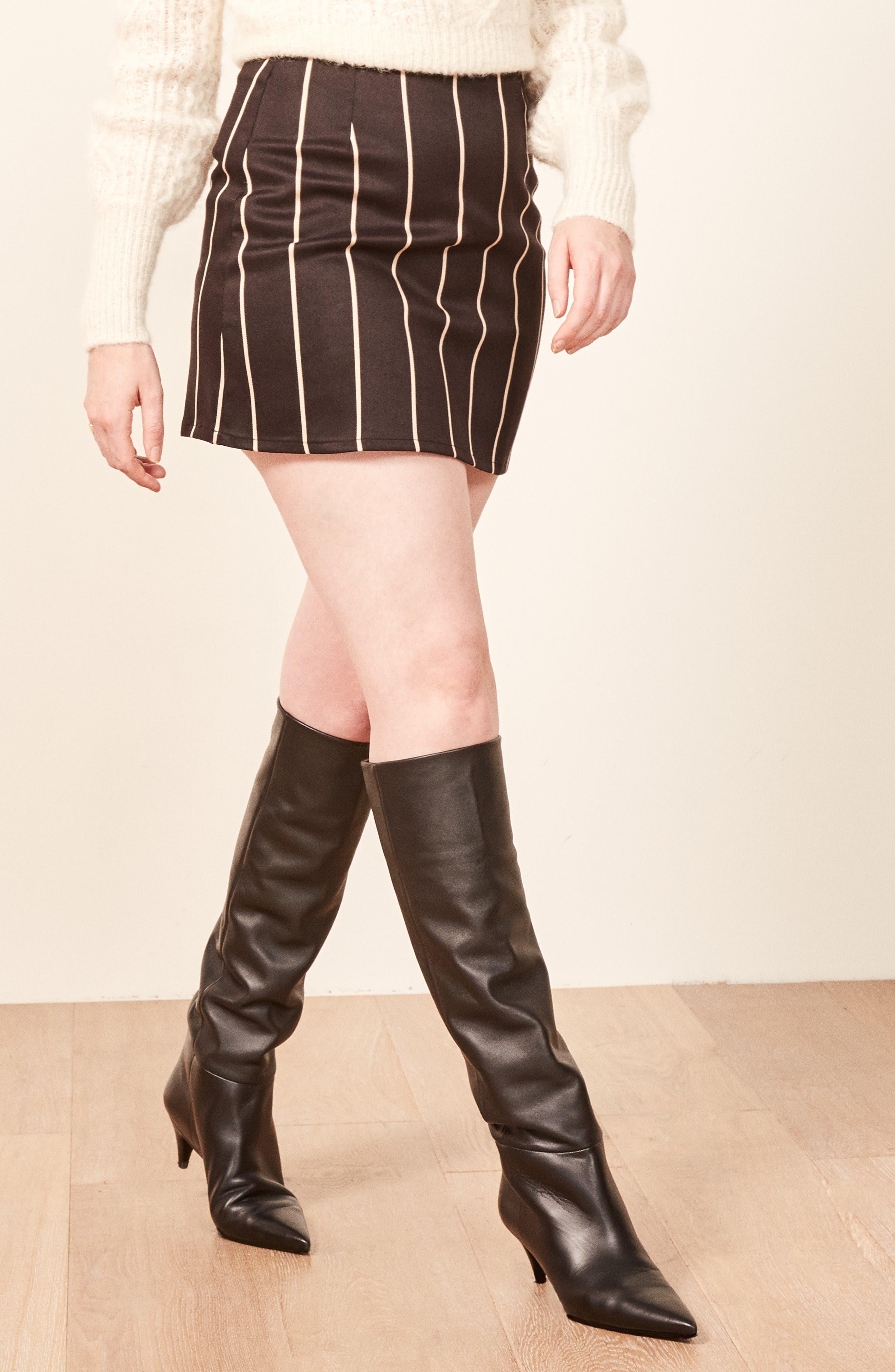Jamie Miniskirt,                             Alternate thumbnail 3, color,                             002