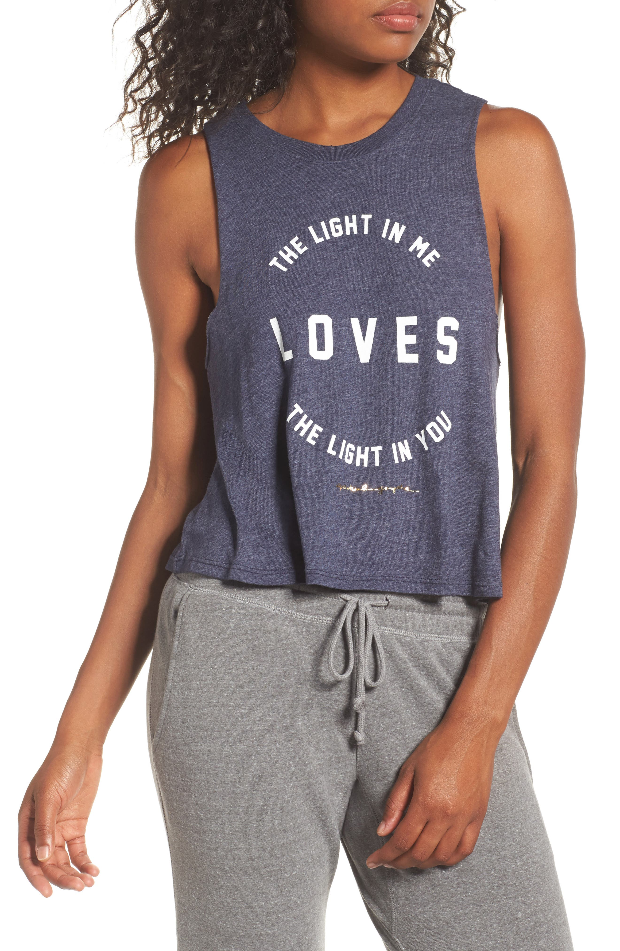 Light In Me Crop Tank,                             Main thumbnail 1, color,                             410