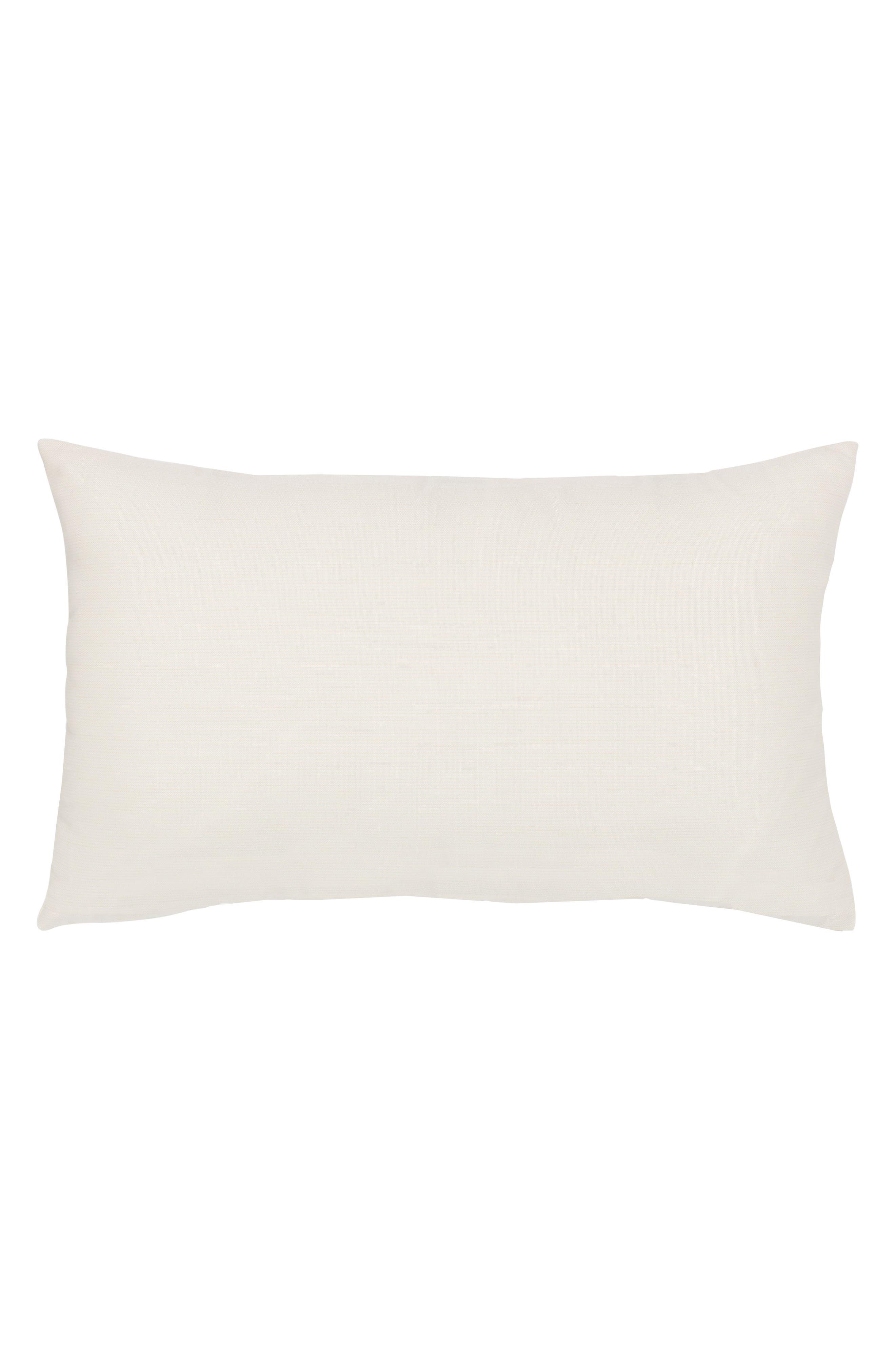 Woven Shimmer Lumbar Pillow,                             Alternate thumbnail 2, color,                             BLUE/ WHITE