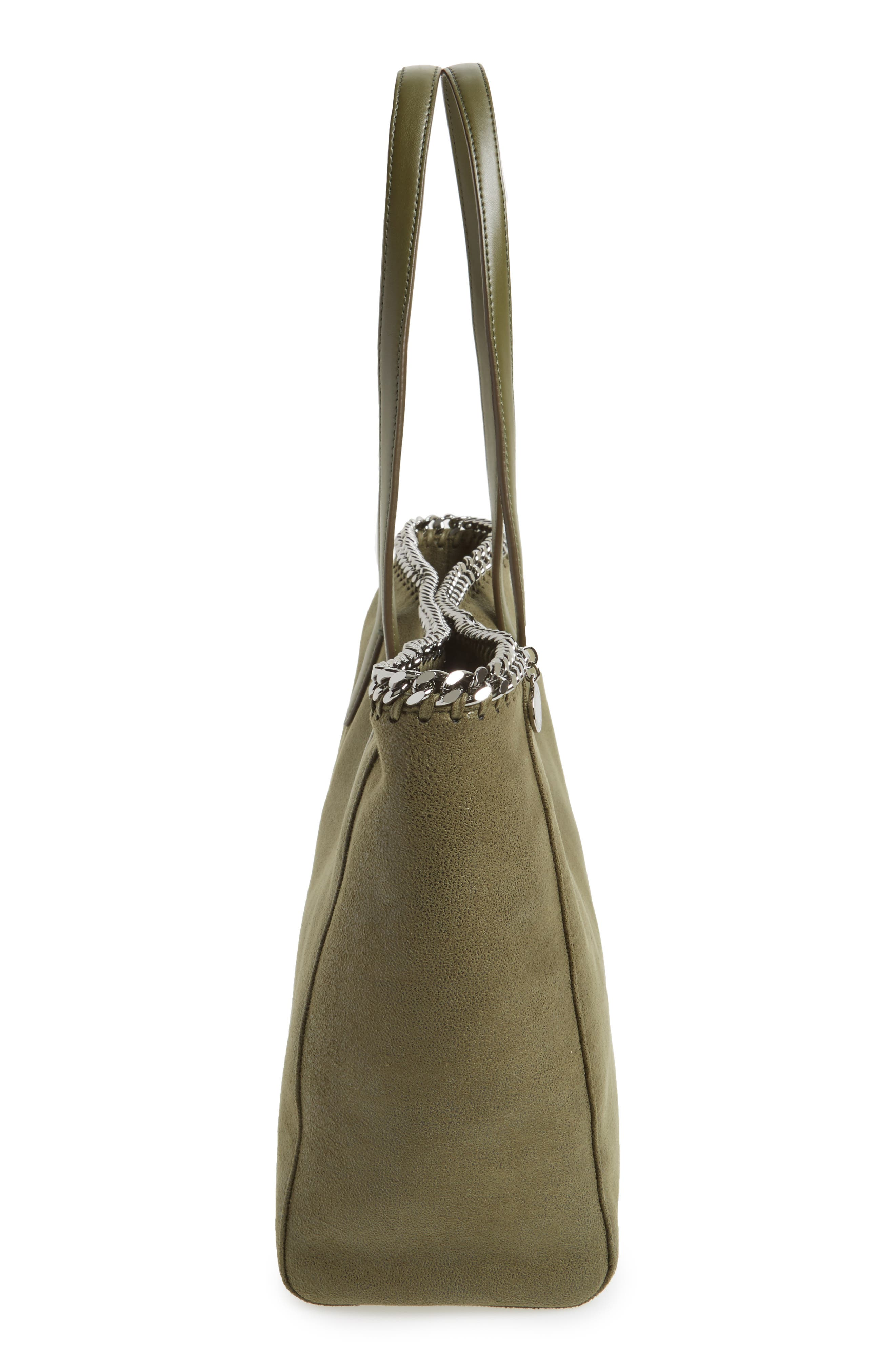 'Falabella - Shaggy Deer' Faux Leather Tote,                             Alternate thumbnail 20, color,