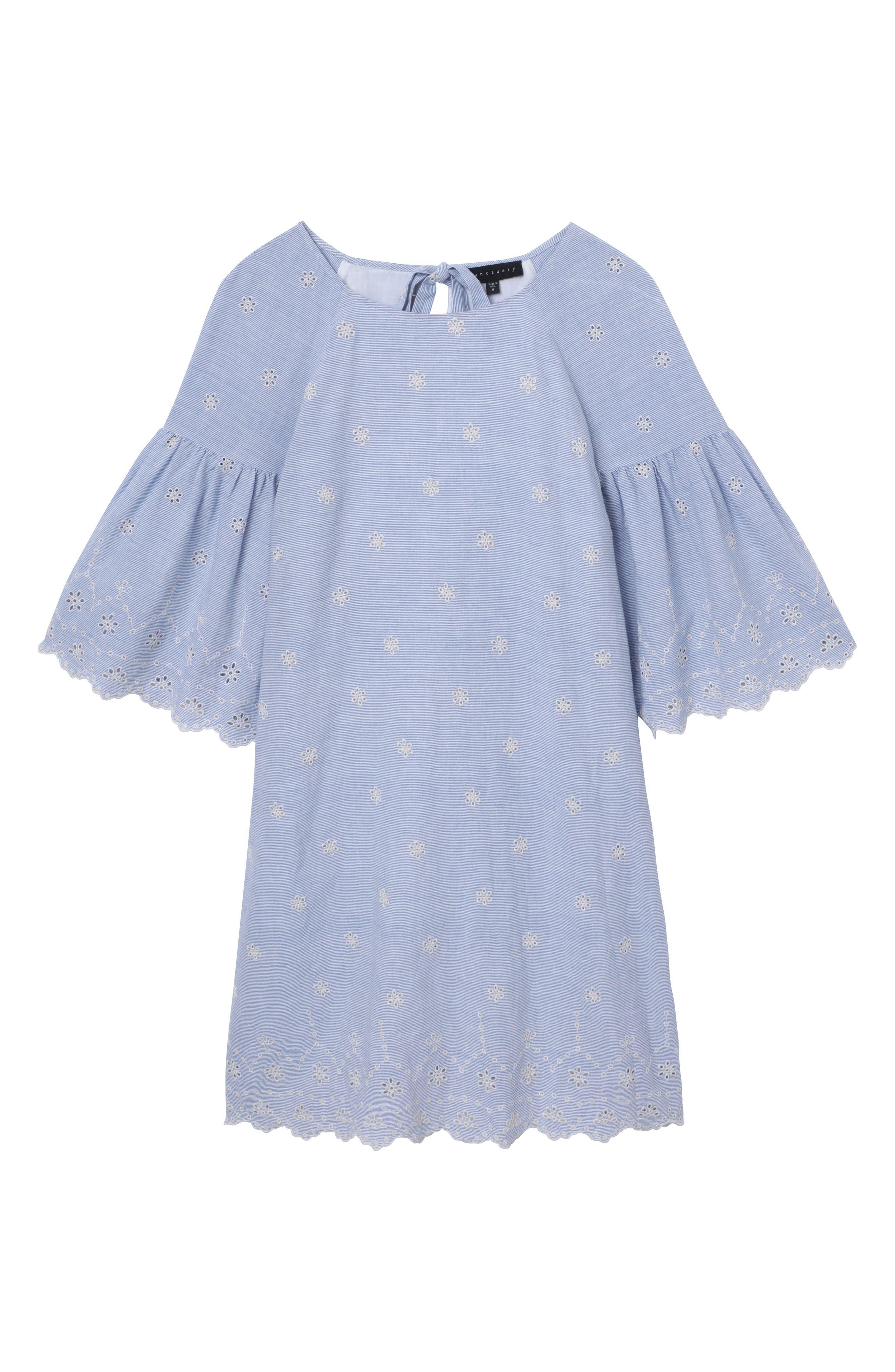 Bellflower Day Dress,                             Alternate thumbnail 3, color,                             496