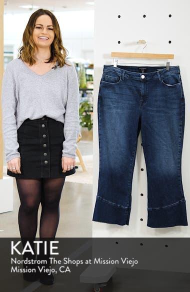 Tulip Hem Kick Crop Jeans, sales video thumbnail
