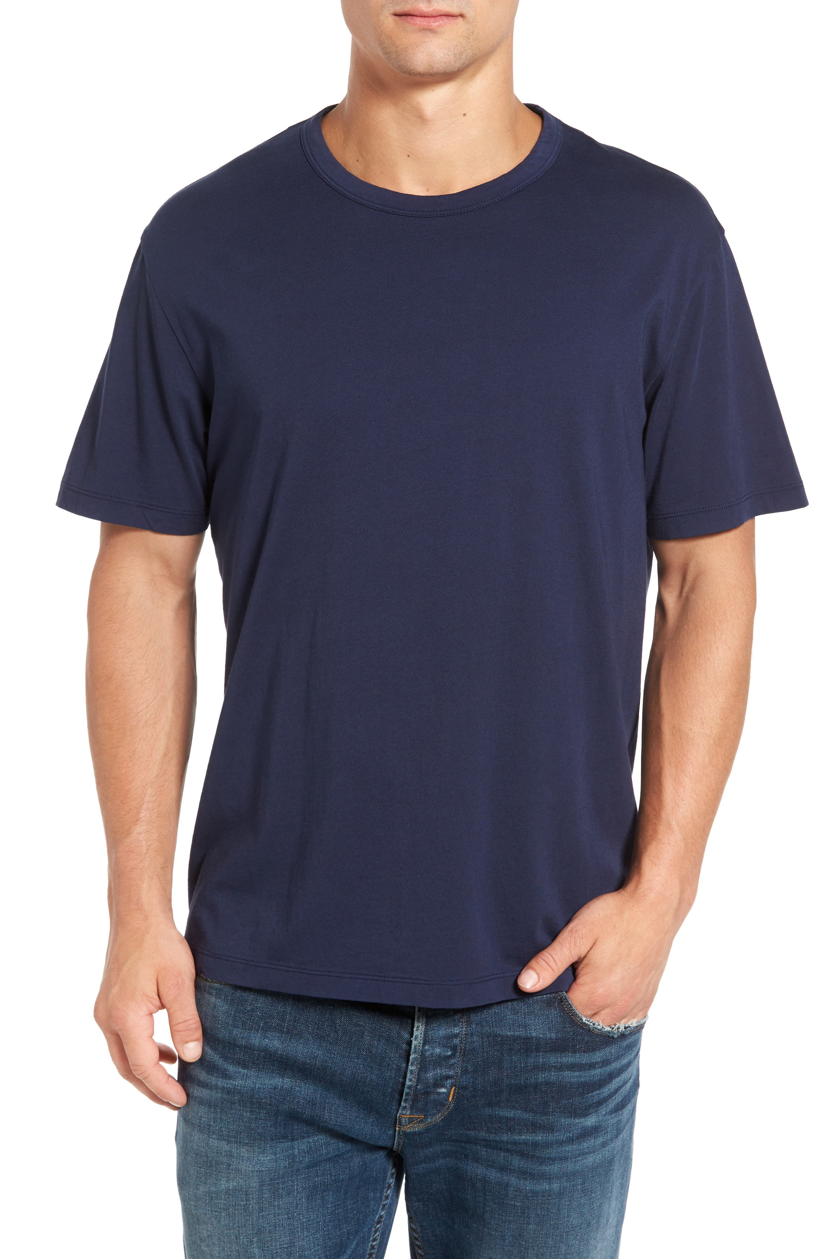 Spinnaker Bay Sports Fit Crewneck T-Shirt,                             Main thumbnail 4, color,