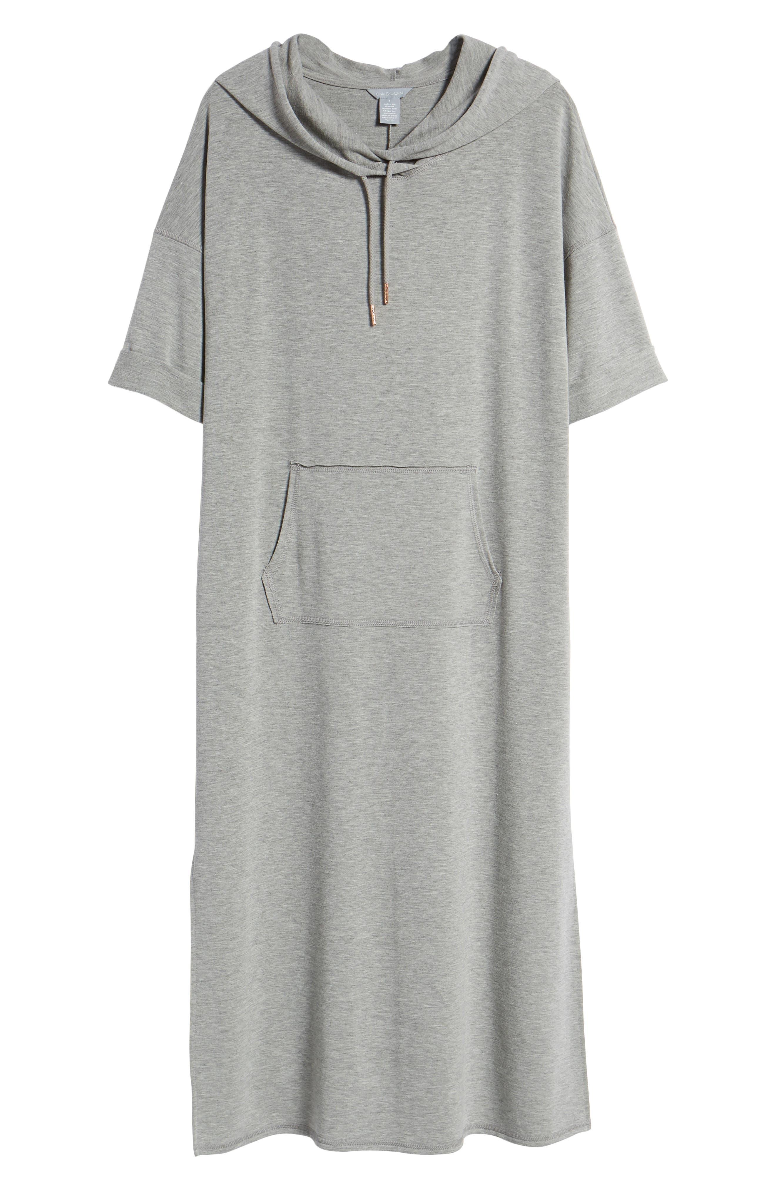 Off-Duty Knit Maxi Dress,                             Alternate thumbnail 7, color,                             030