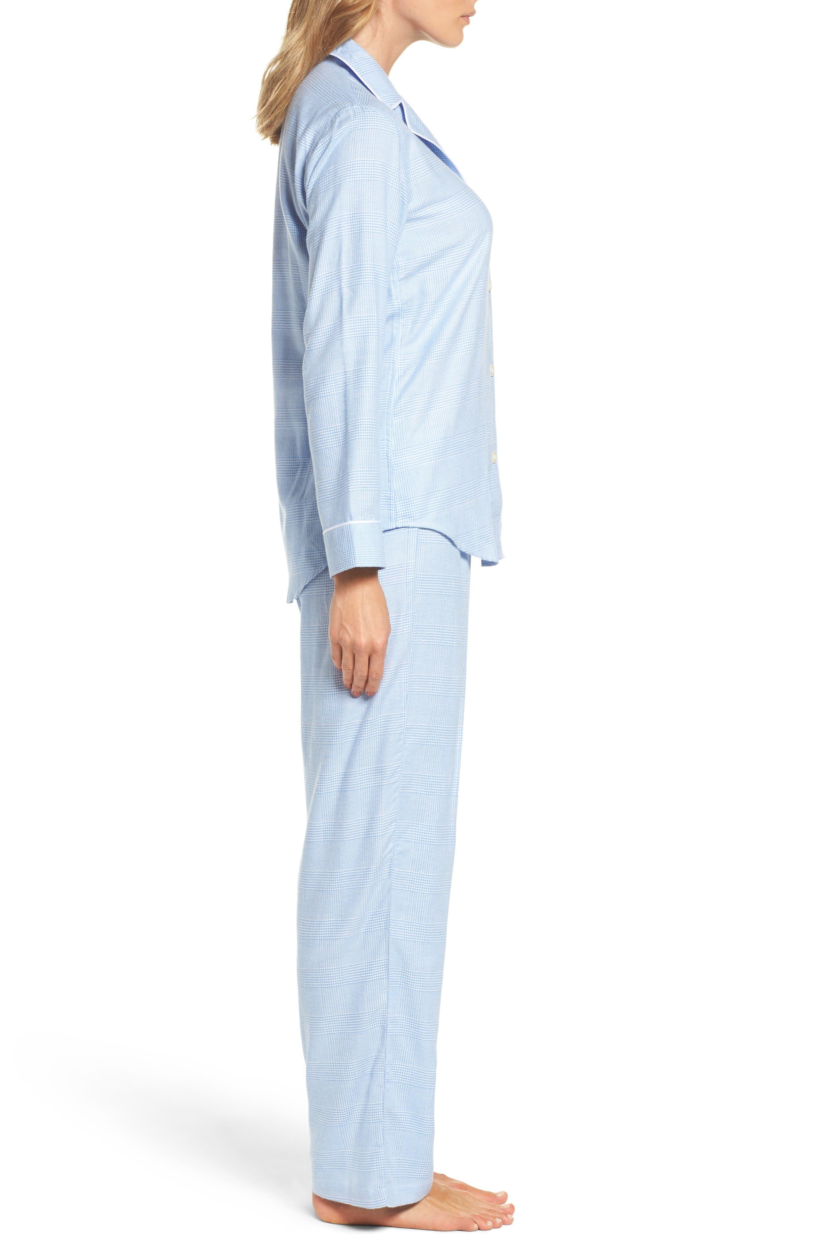 Long Pajamas,                             Alternate thumbnail 3, color,                             410