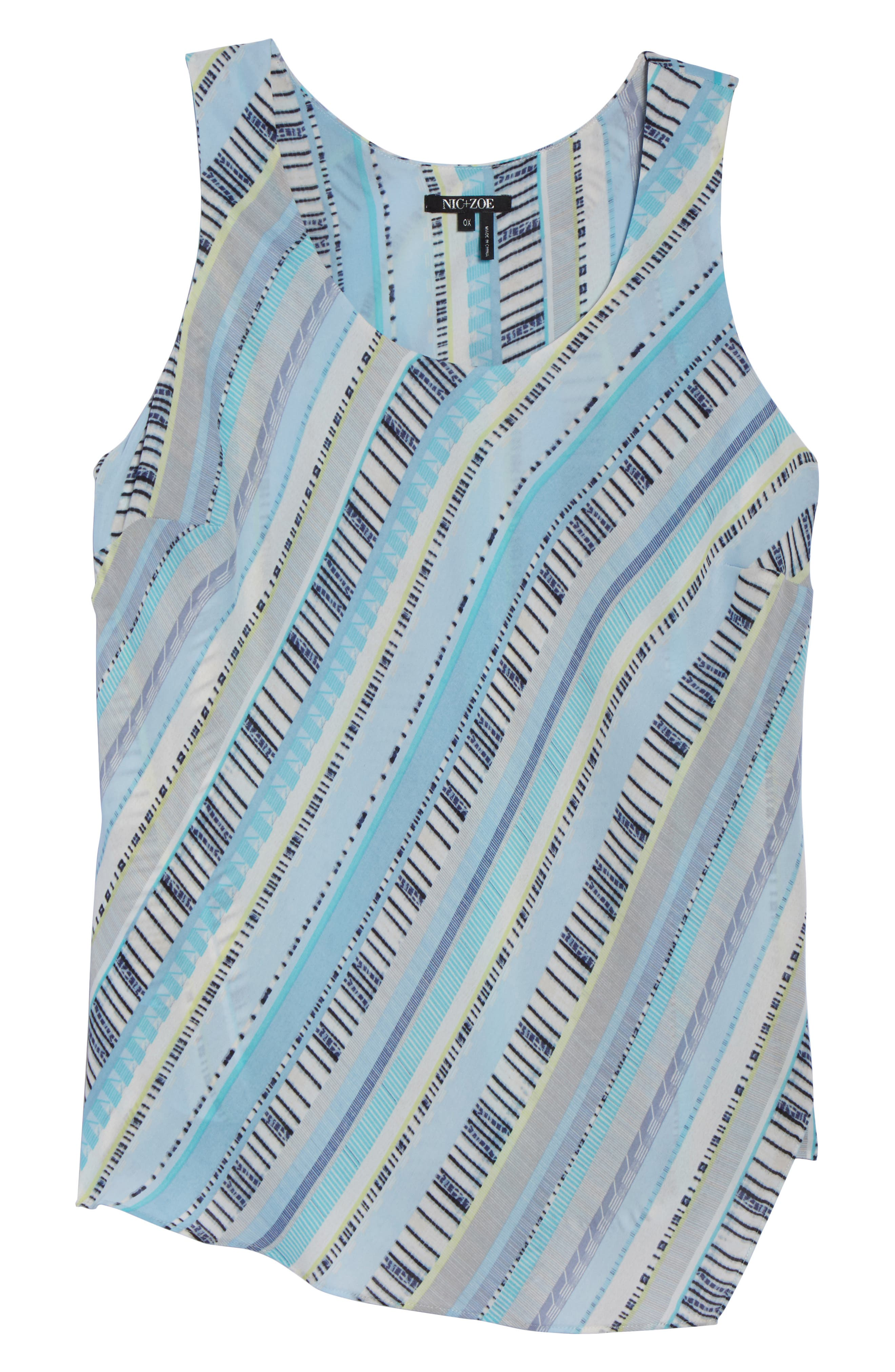 Beach Stripe Tank,                             Alternate thumbnail 7, color,                             490
