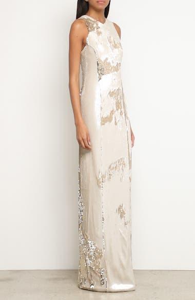Sequin Column Gown, video thumbnail