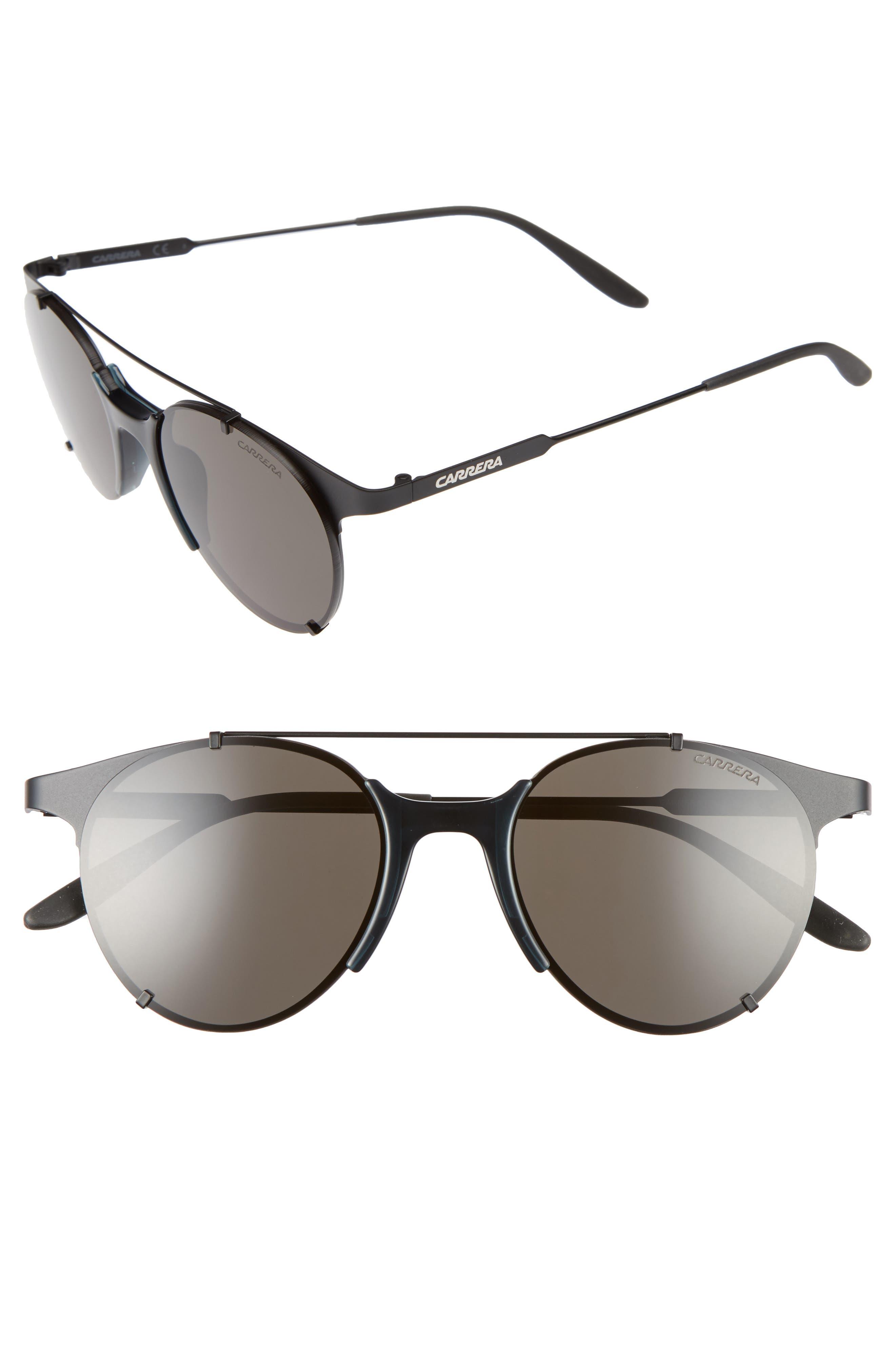 CA128/S 52mm Sunglasses,                             Alternate thumbnail 3, color,                             001