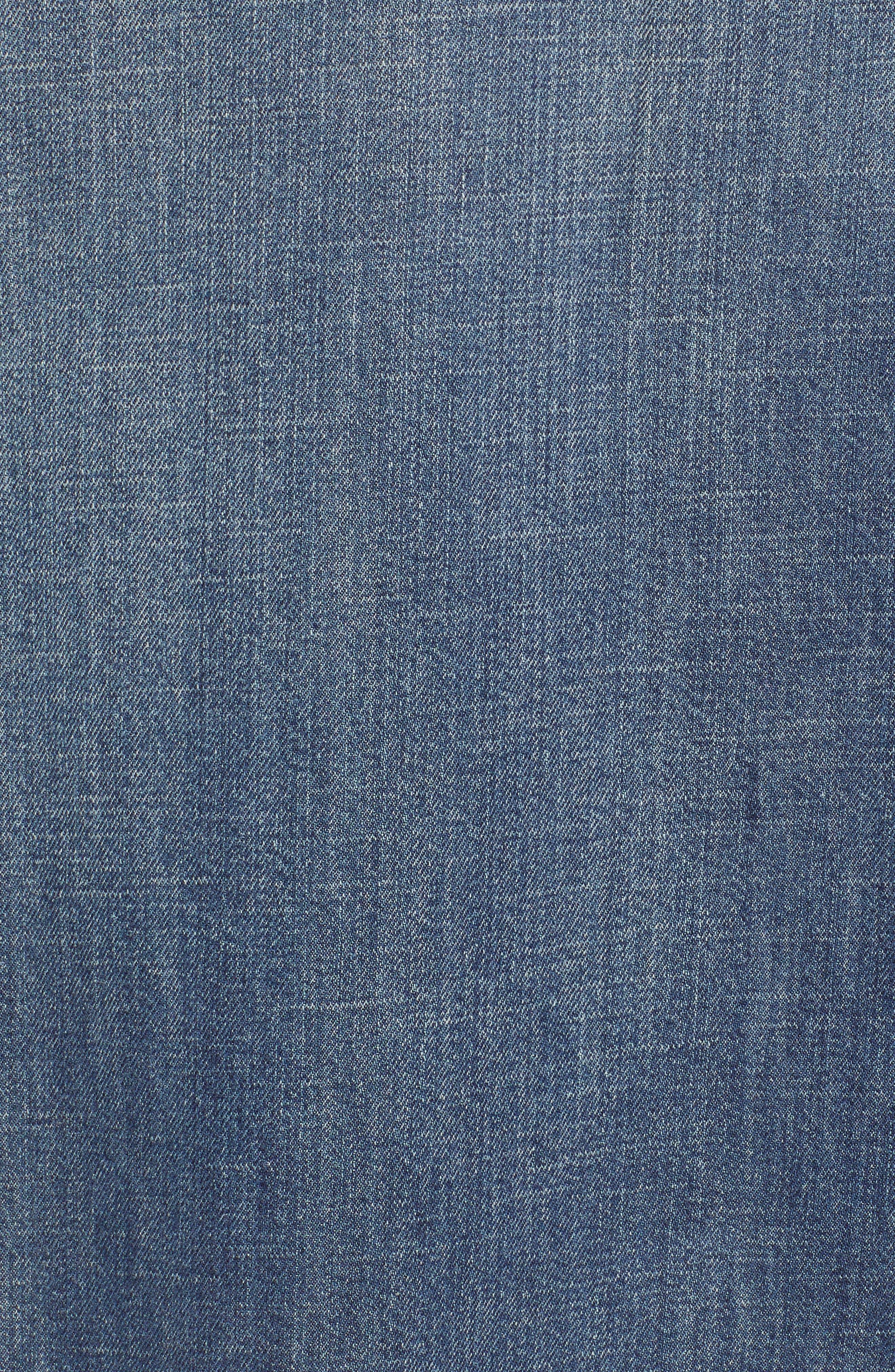 Regular Fit Denim Sport Shirt,                             Alternate thumbnail 5, color,                             420