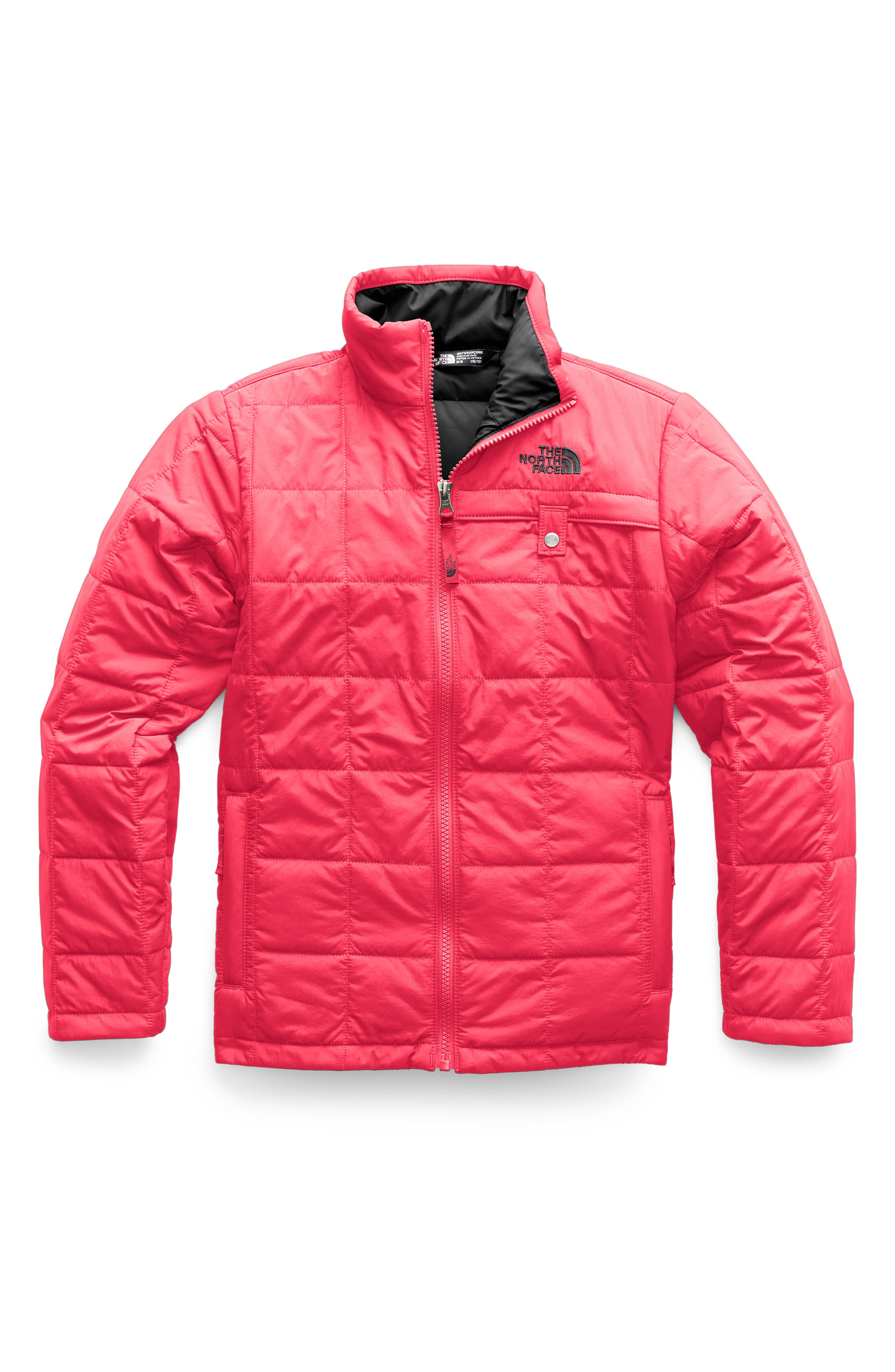 THE NORTH FACE,                             Harway Heatseeker<sup>™</sup> Water Resistant Jacket,                             Main thumbnail 1, color,                             TNF RED