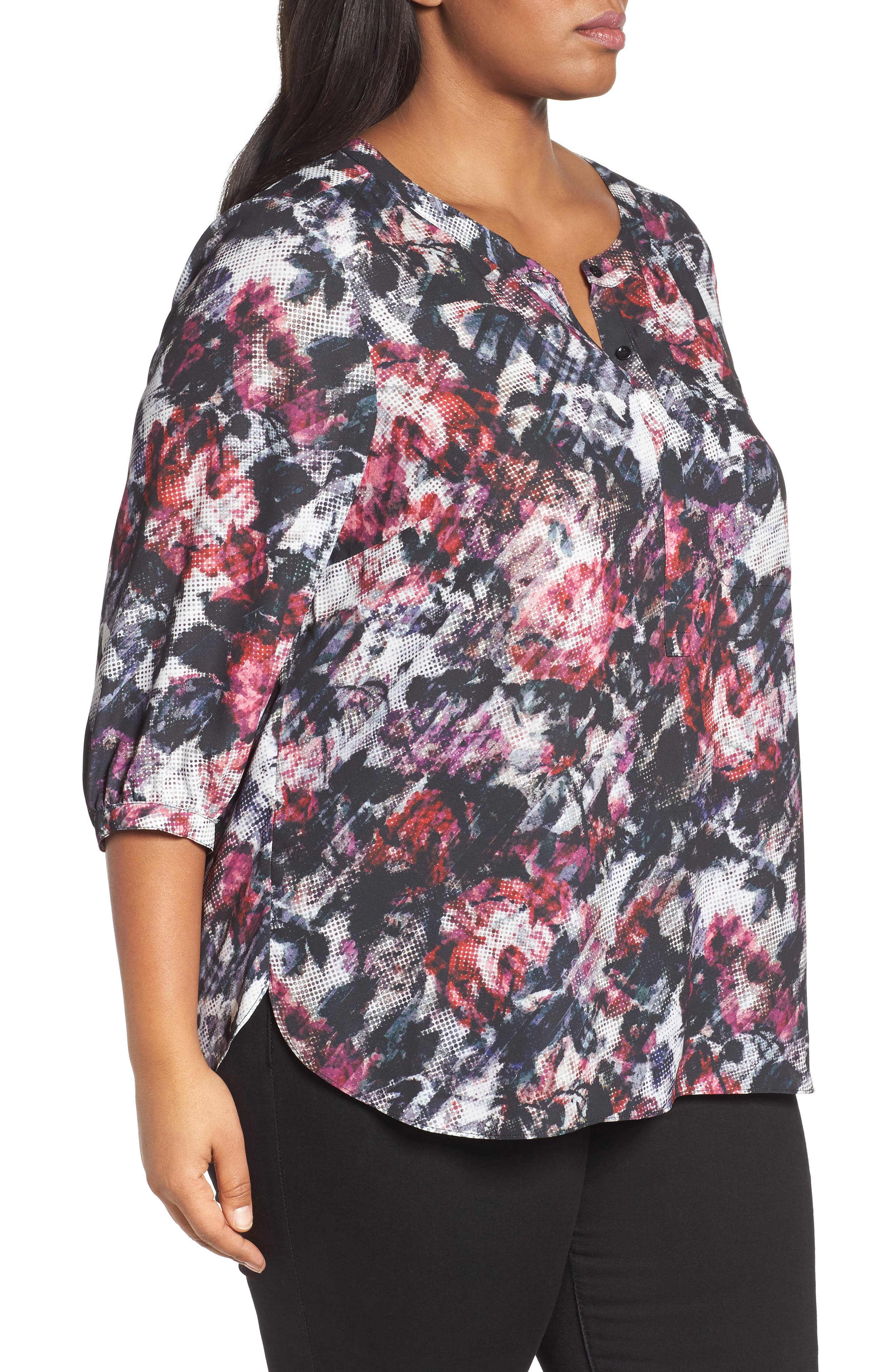 Henley Top,                             Alternate thumbnail 323, color,