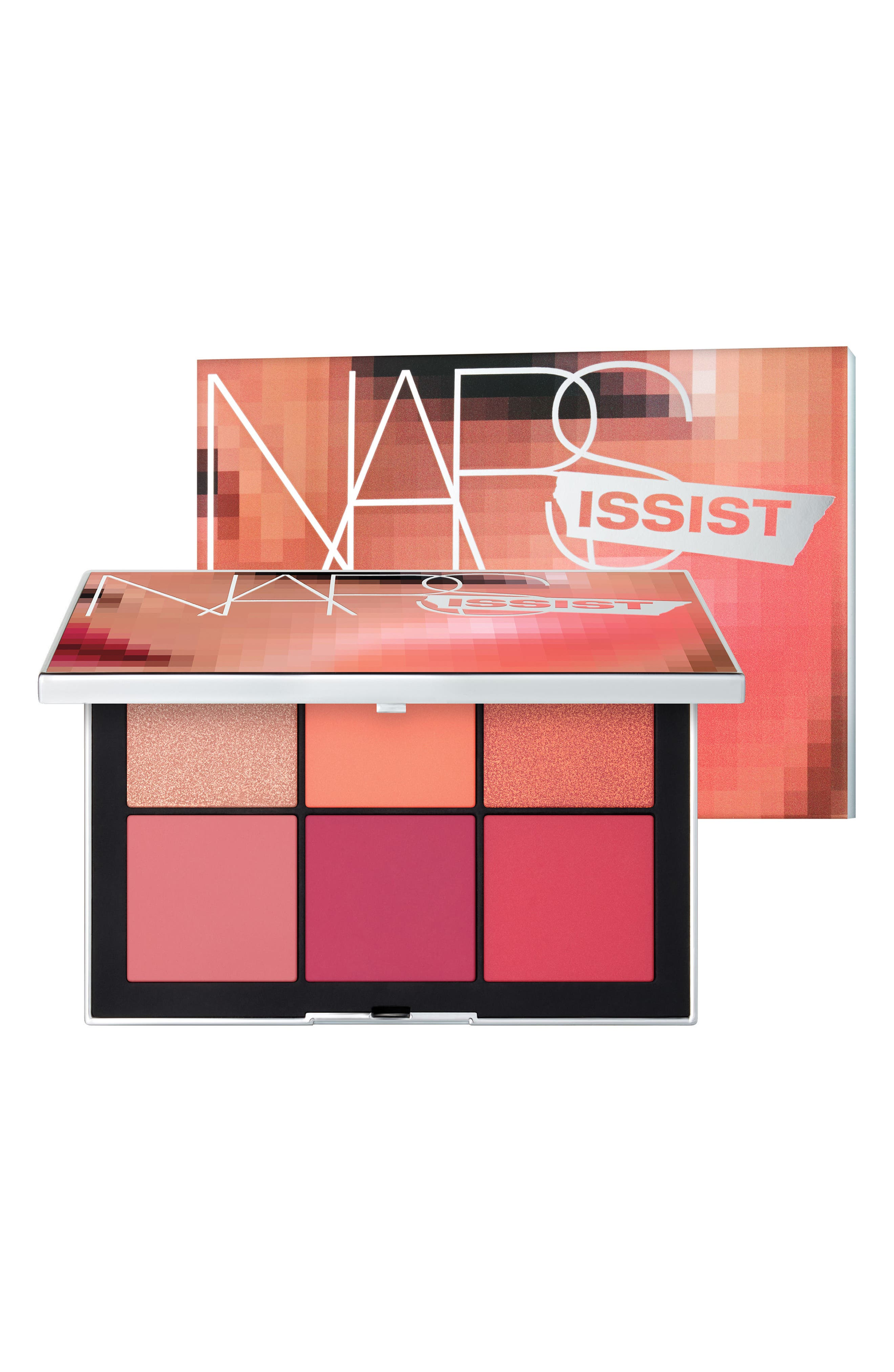 NARSissist Wanted Cheek Palette II,                             Alternate thumbnail 2, color,                             MEDIUM TO DARK