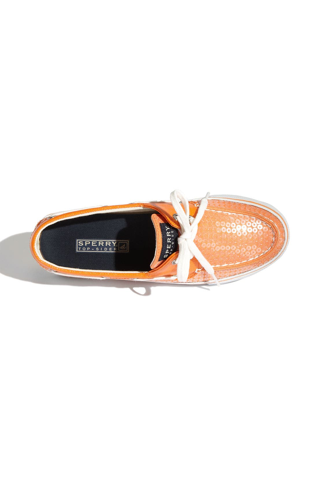 Top-Sider<sup>®</sup> 'Bahama' Sequined Boat Shoe,                             Alternate thumbnail 129, color,