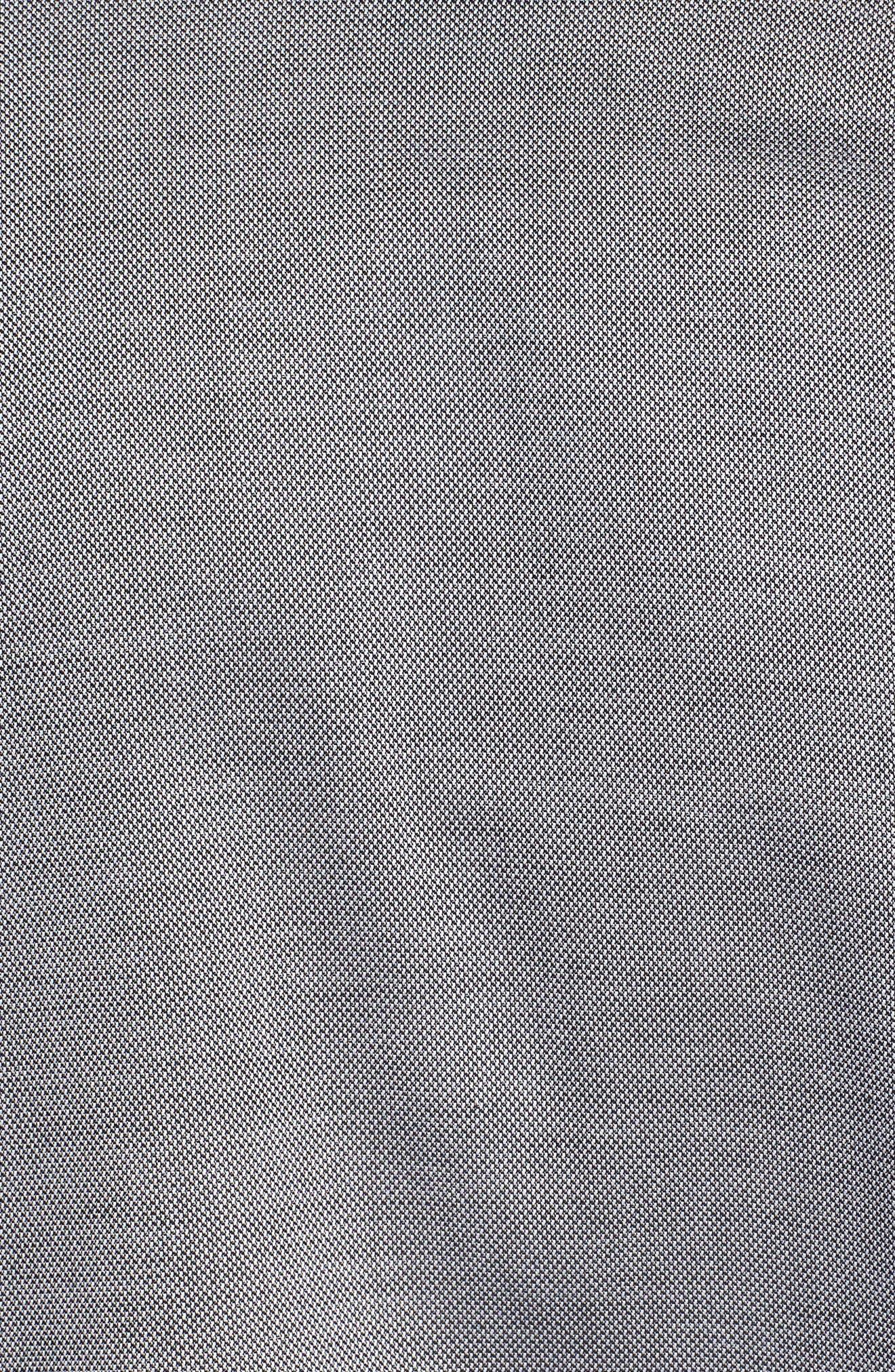Pajama Top,                             Alternate thumbnail 6, color,                             BLACK ROYAL OXFORD
