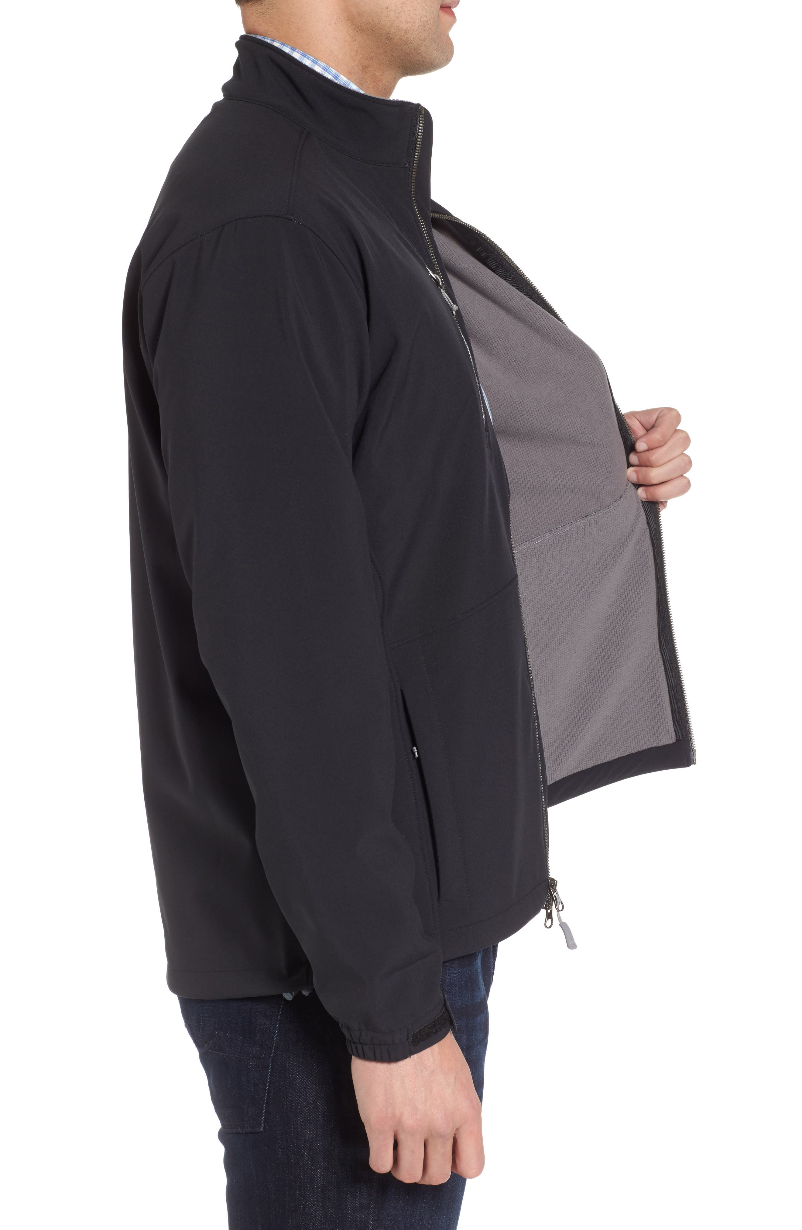 Anchorage 3-Layer Soft Shell Jacket,                             Alternate thumbnail 5, color,