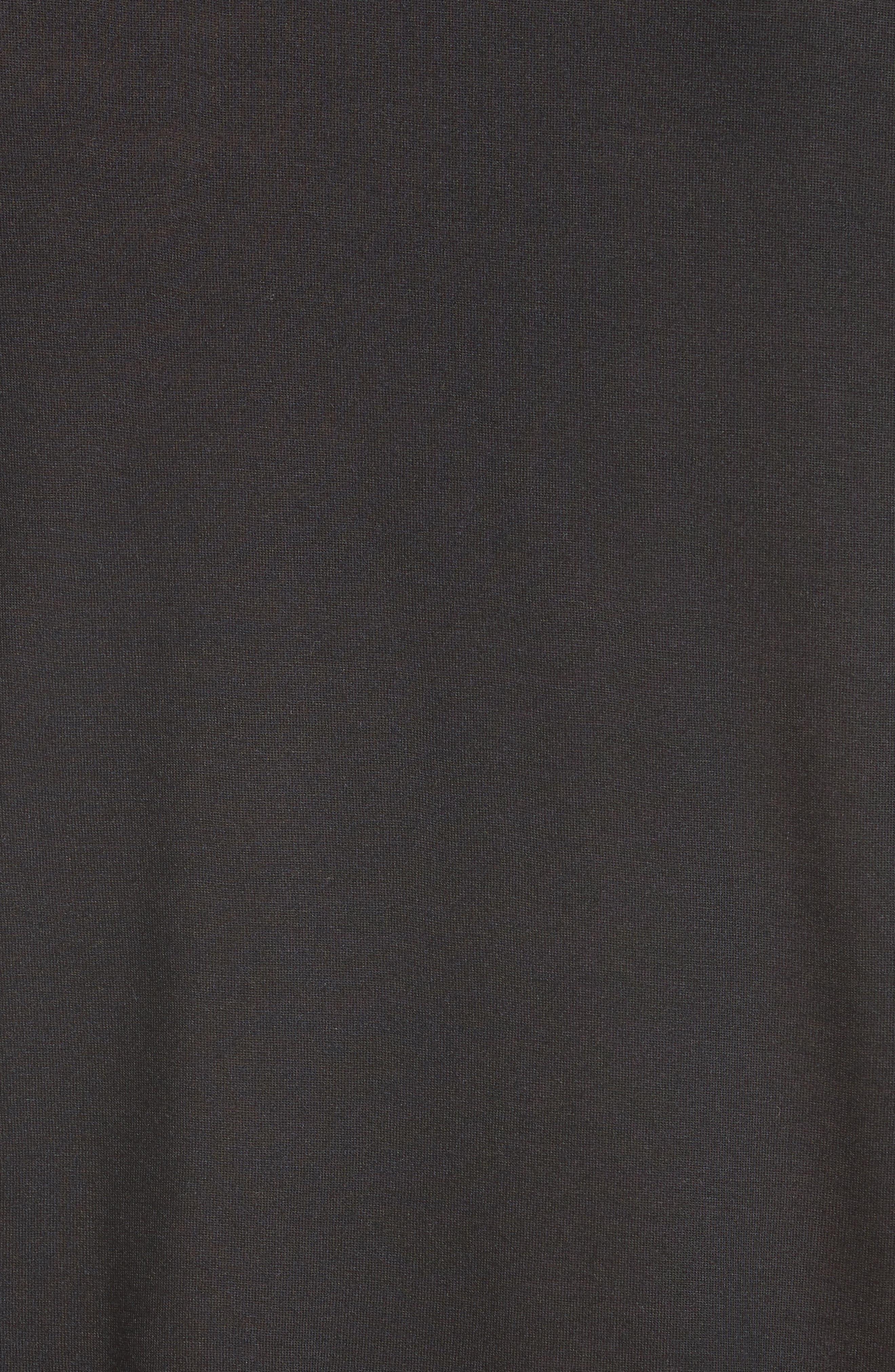T-Shirt,                             Alternate thumbnail 5, color,                             BLACK