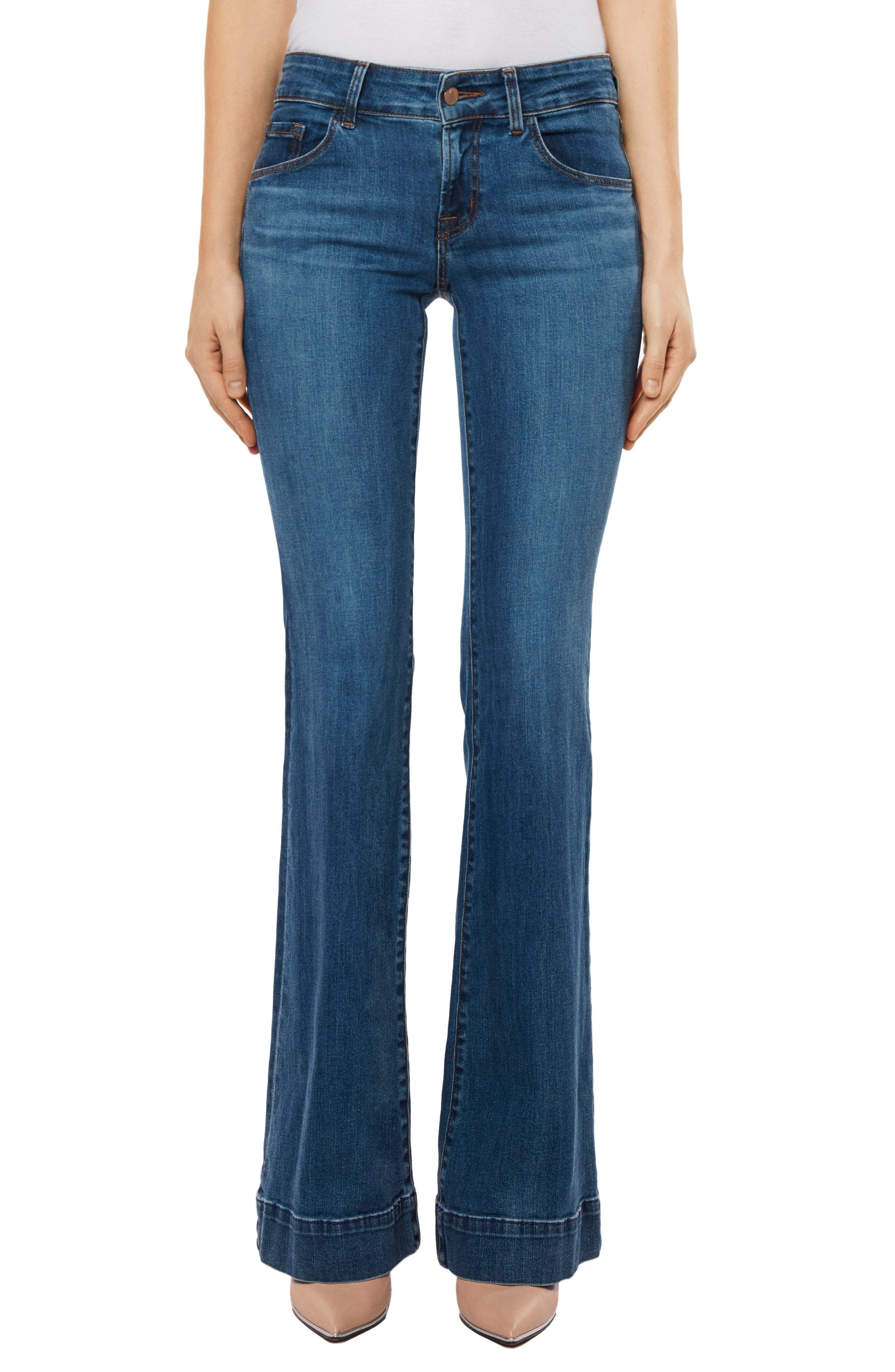 Love Story Flare Jeans,                             Main thumbnail 1, color,                             423