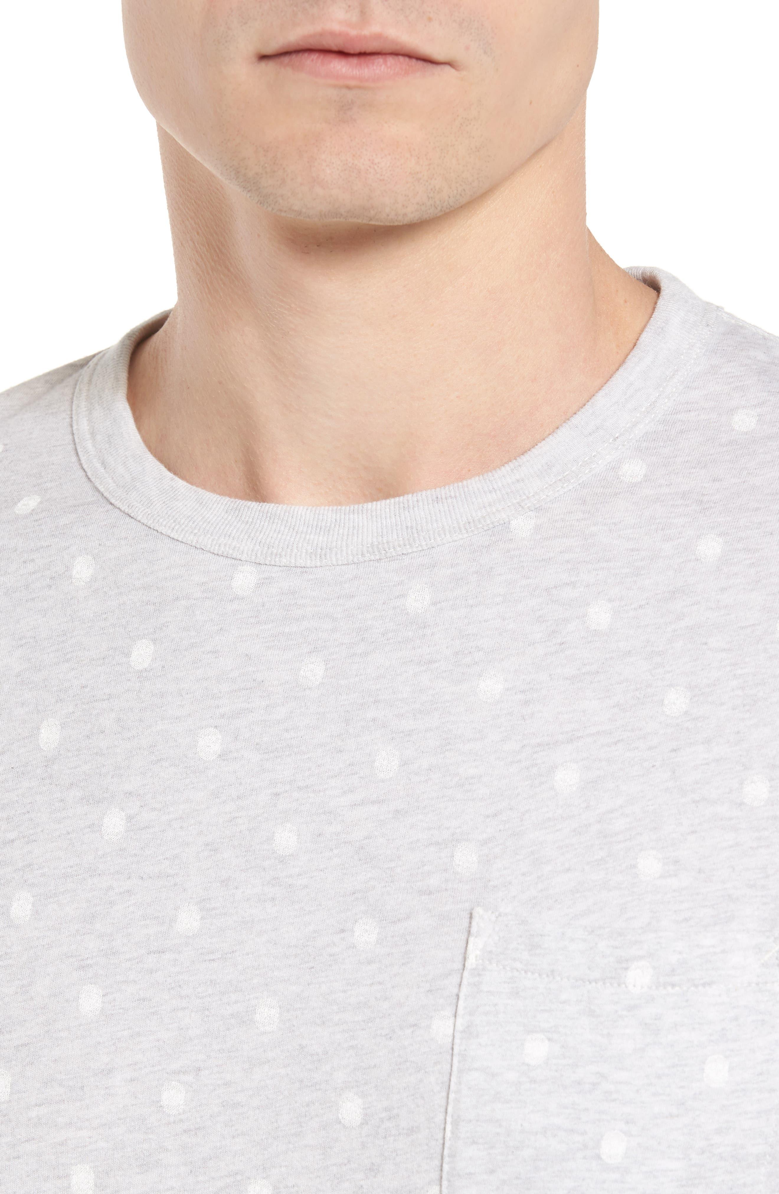 Polka Dot T-Shirt,                             Alternate thumbnail 4, color,                             020