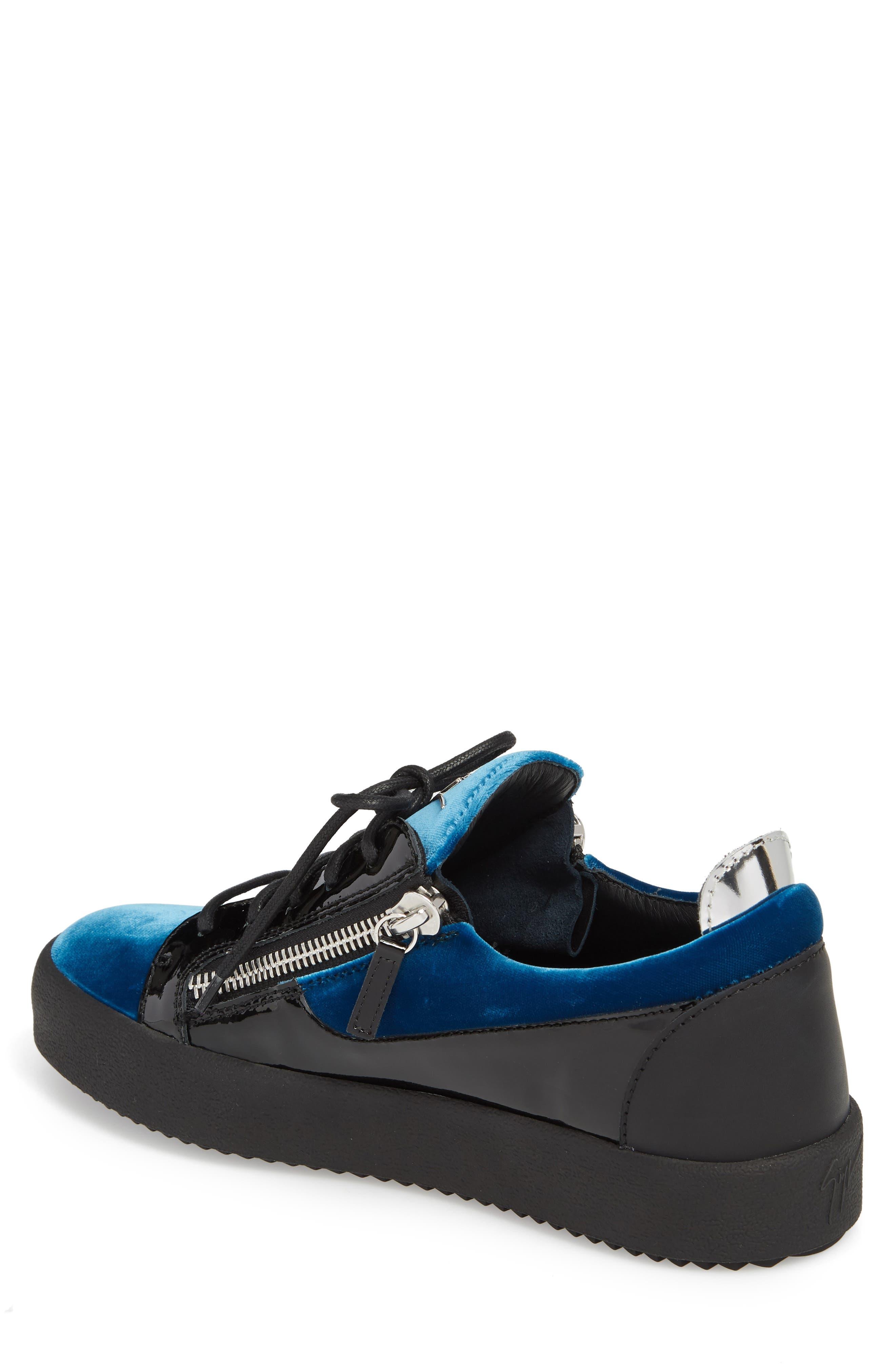 Camo Sneaker,                             Alternate thumbnail 2, color,                             BLUE