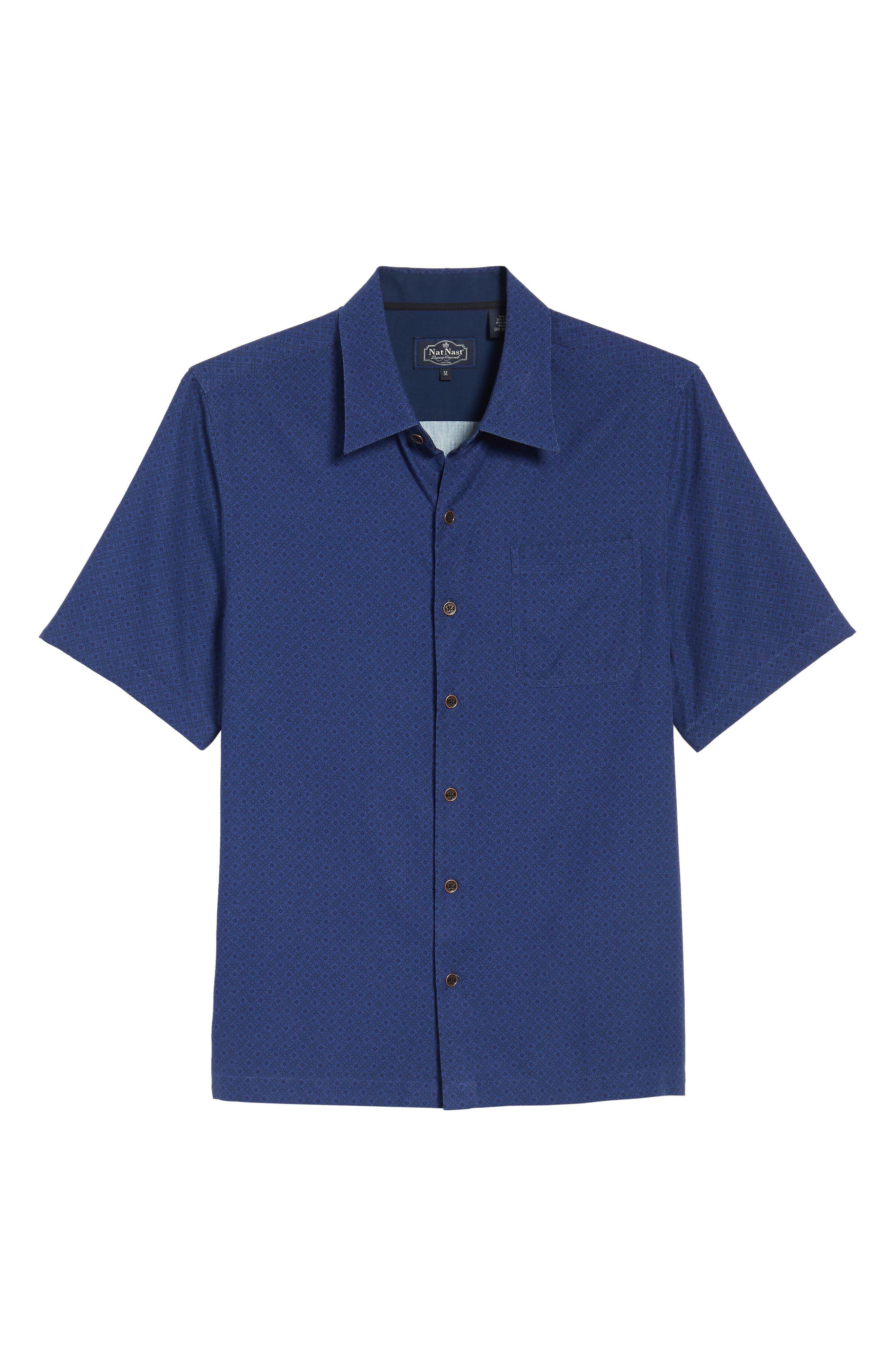 Fleural Camp Shirt,                             Alternate thumbnail 12, color,