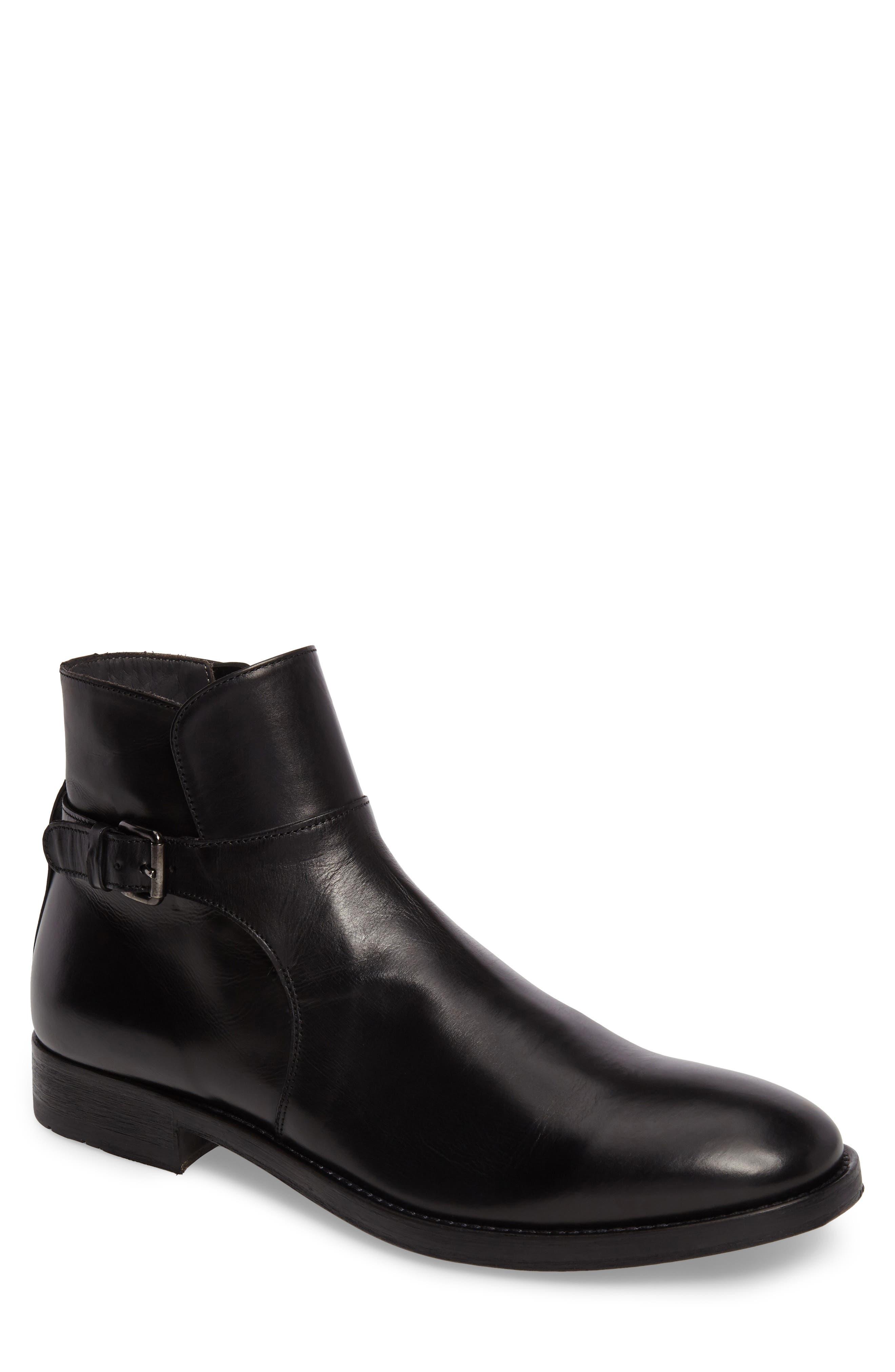 Heath Zip Boot,                         Main,                         color, 001