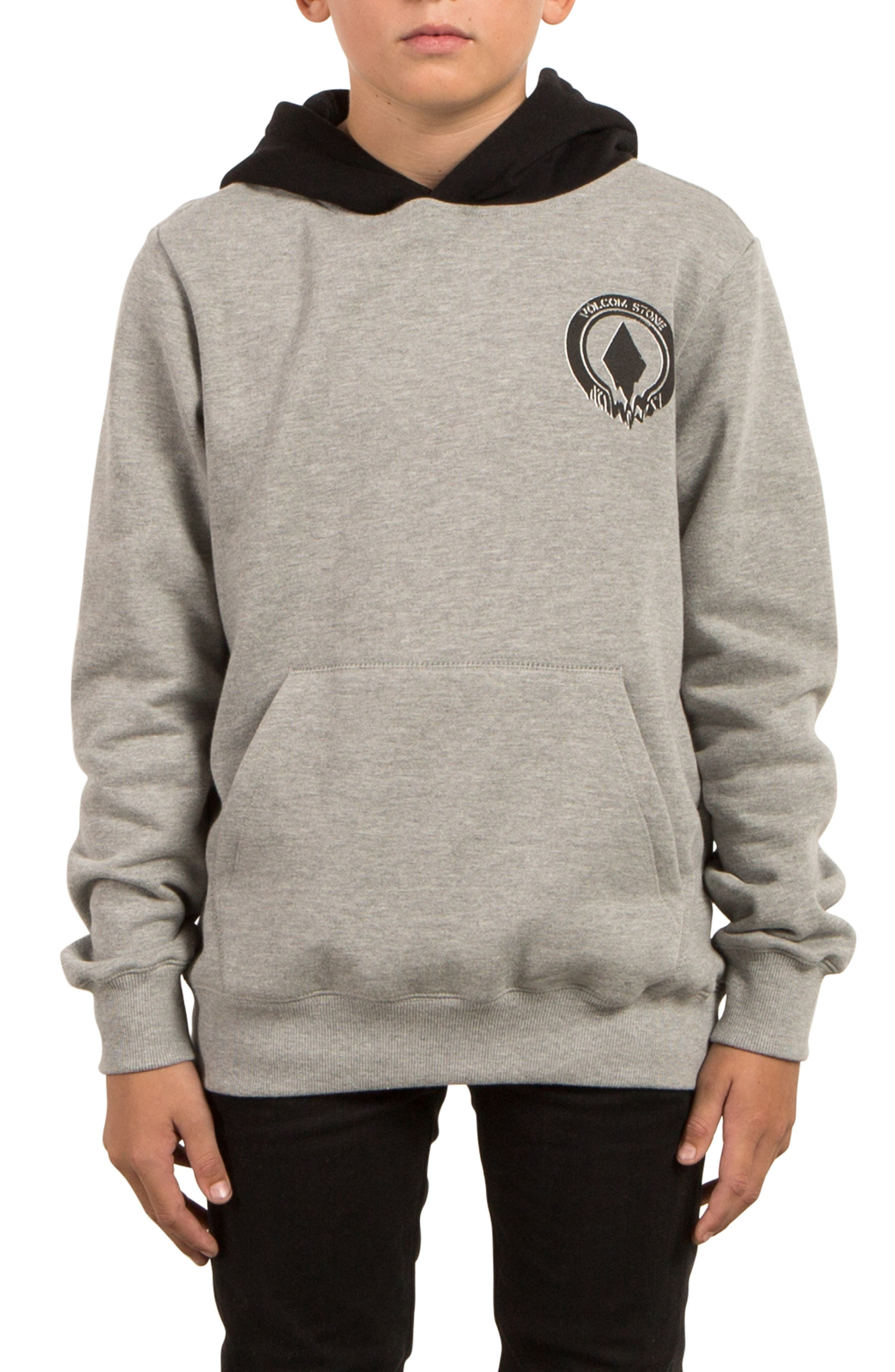 Supply Stone Graphic Pullover Hoodie,                             Alternate thumbnail 4, color,                             020