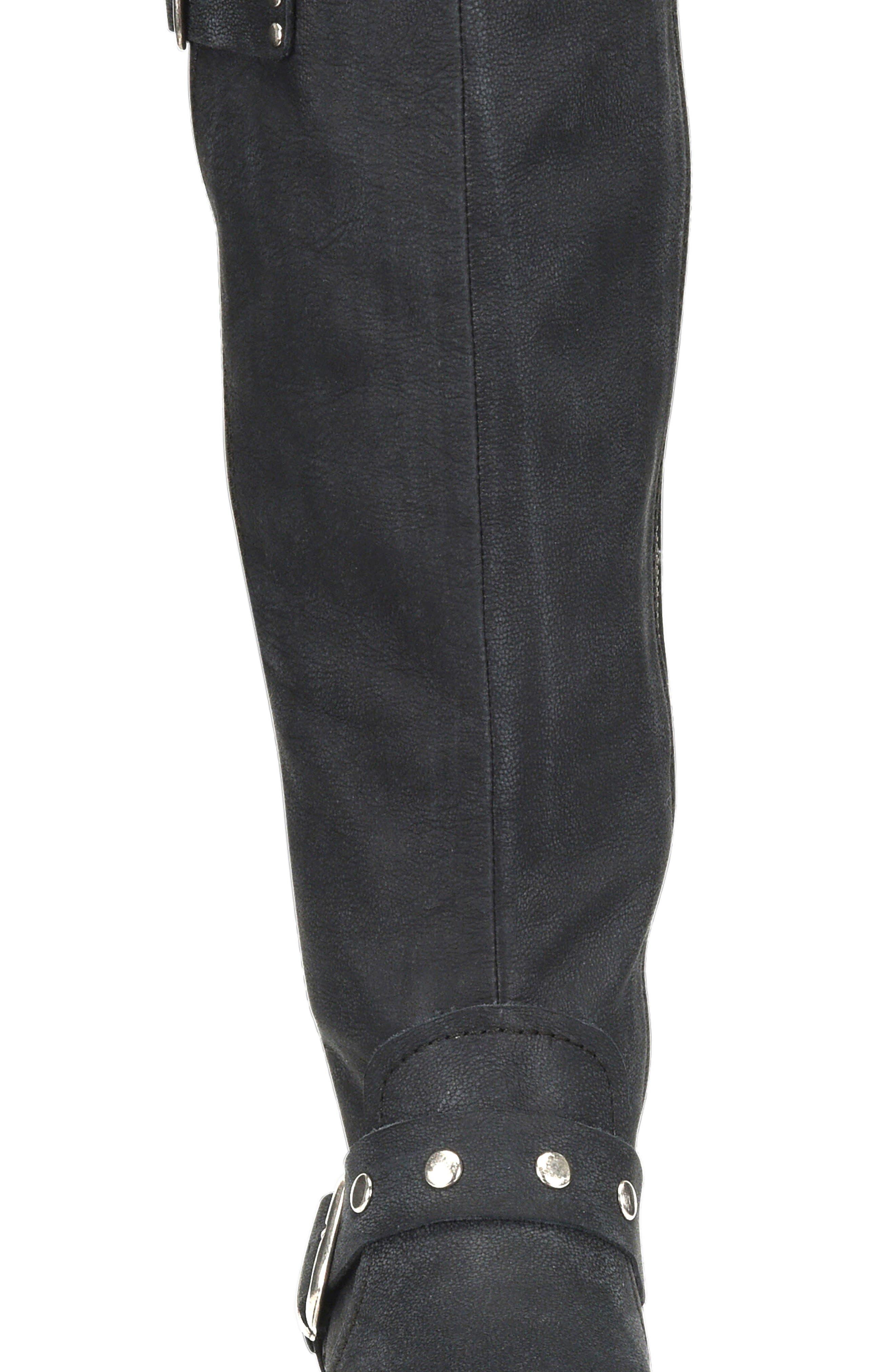 Ashland Knee High Boot,                             Alternate thumbnail 4, color,                             001