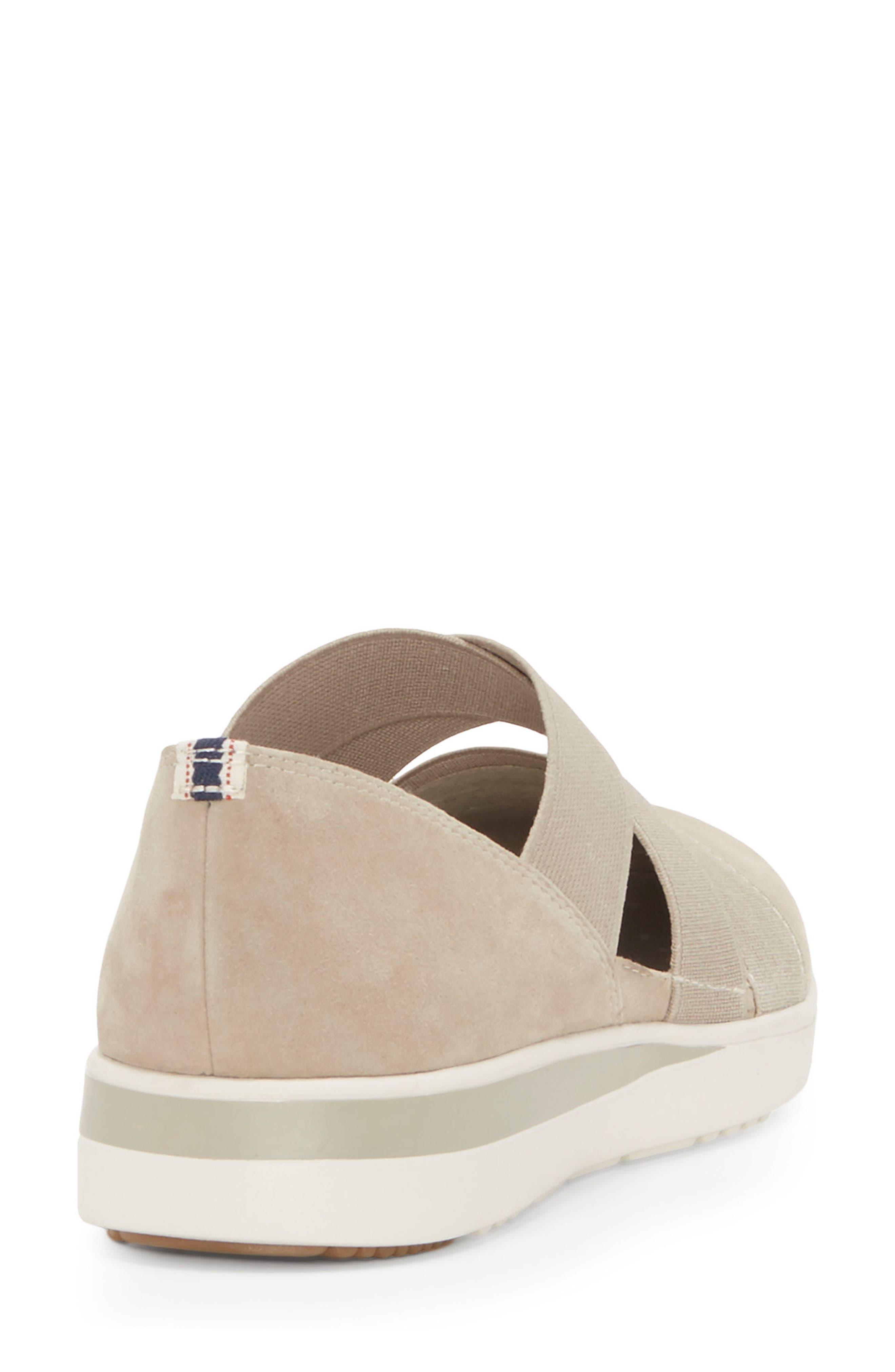 Alskara Slip-On Sneaker Flat,                             Alternate thumbnail 8, color,                             BRINDLE SUEDE