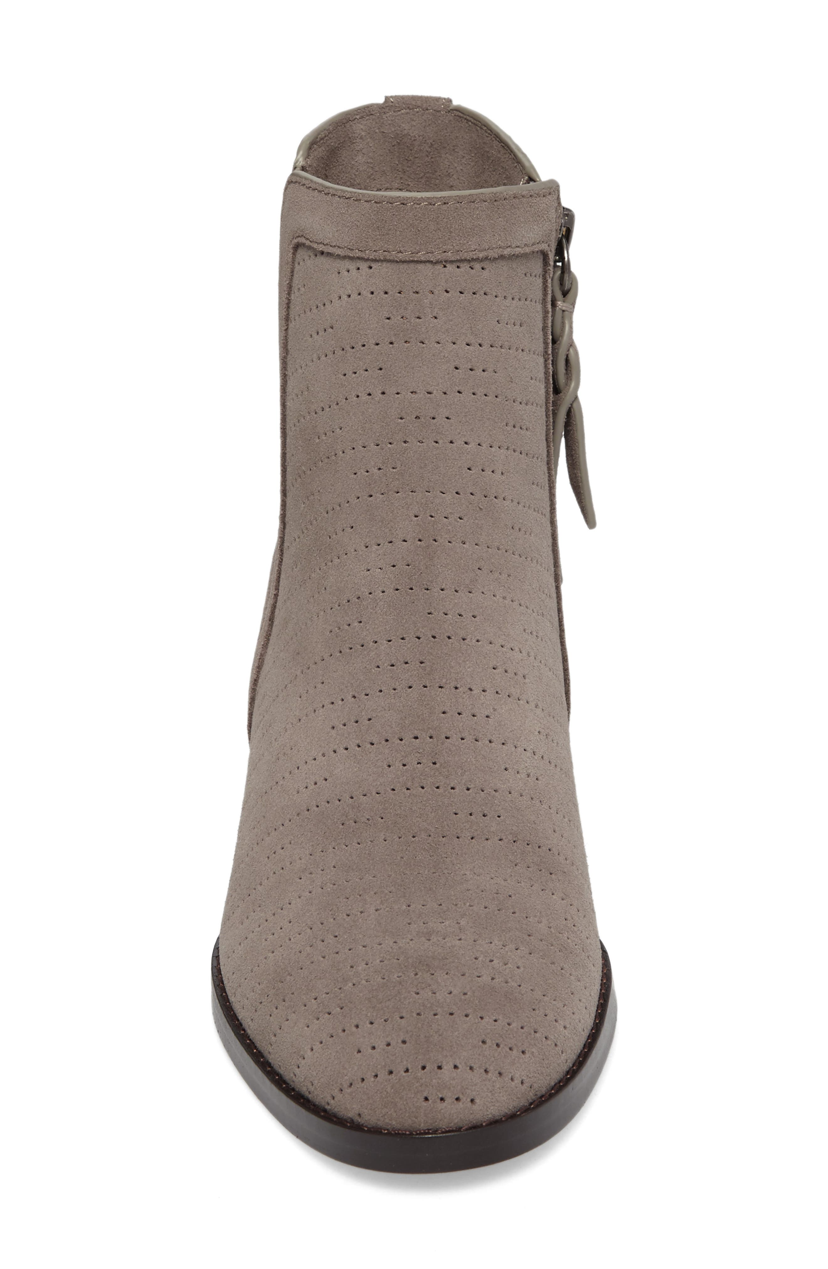 Rosalie Perforated Bootie,                             Alternate thumbnail 4, color,                             036
