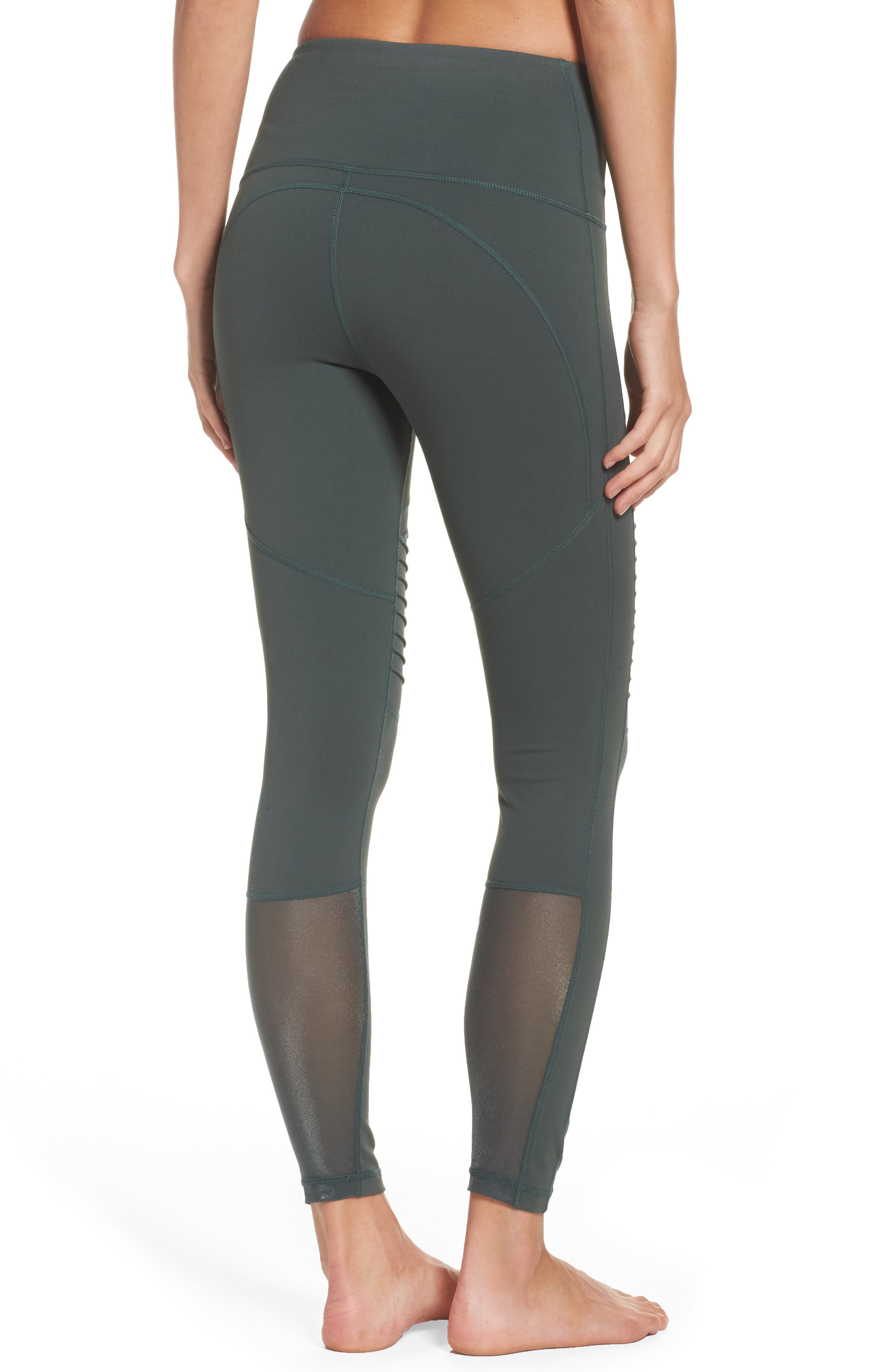 Autumn High Waist Moto Ankle Leggings,                             Alternate thumbnail 2, color,                             300
