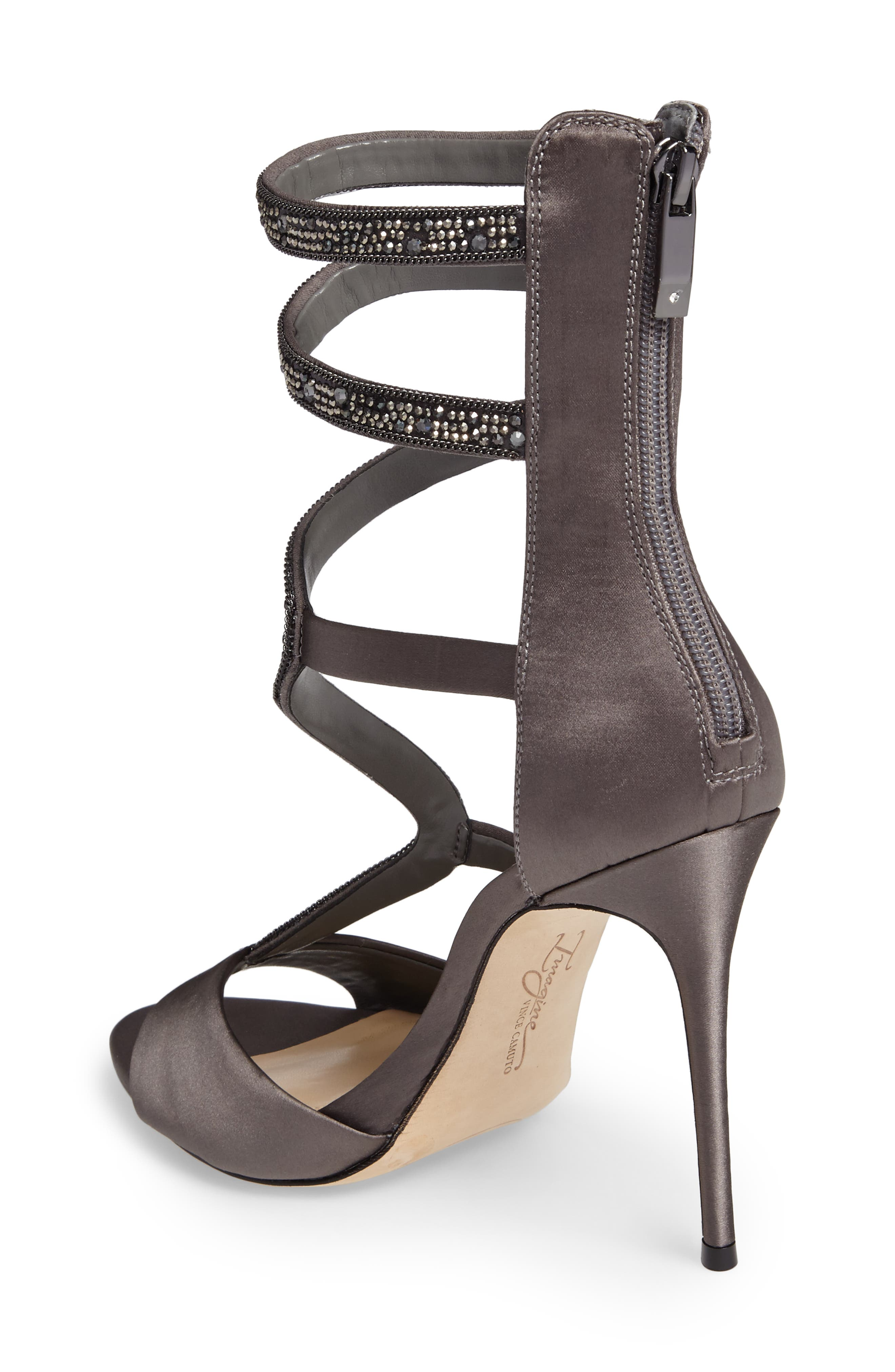 Imagine Vince Camuto Dafny Embellished Sandal,                             Alternate thumbnail 5, color,