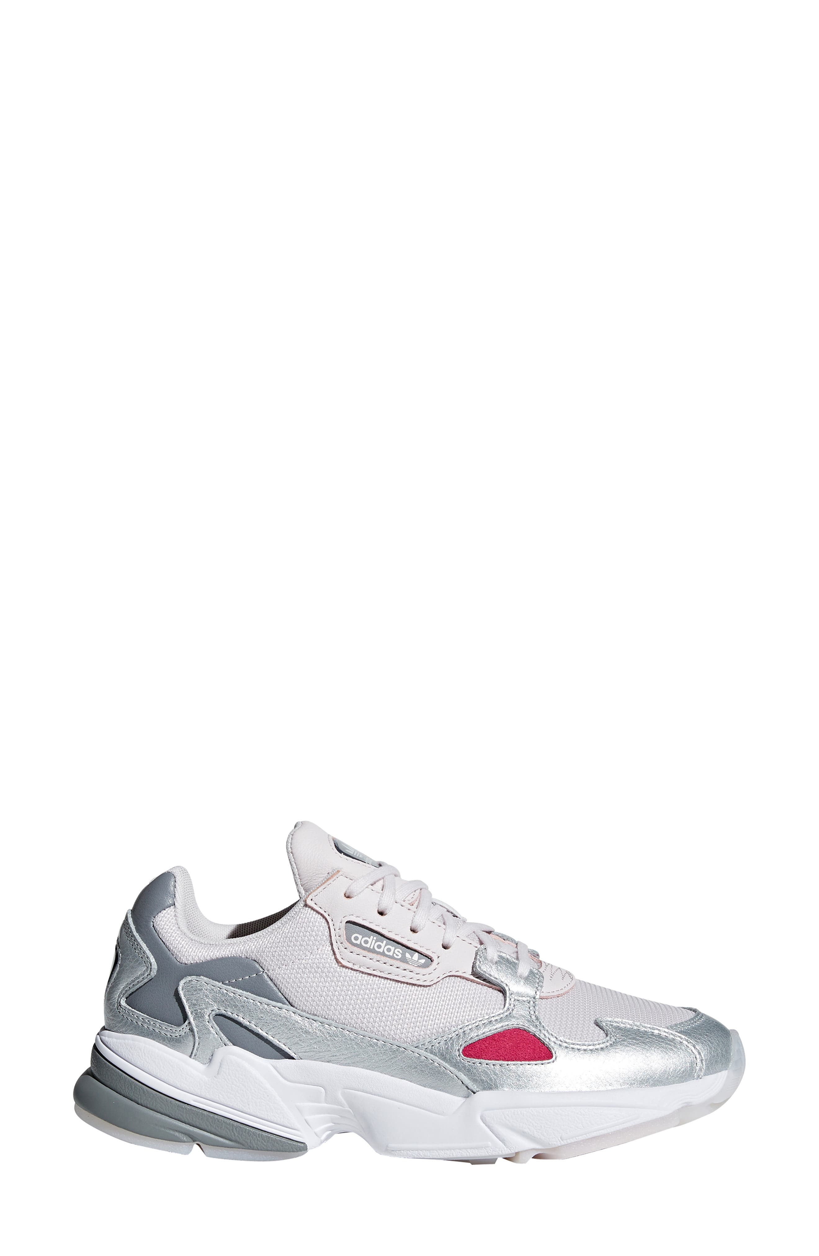 Falcon Sneaker,                             Alternate thumbnail 3, color,                             ORCHID TINT/ SILVER