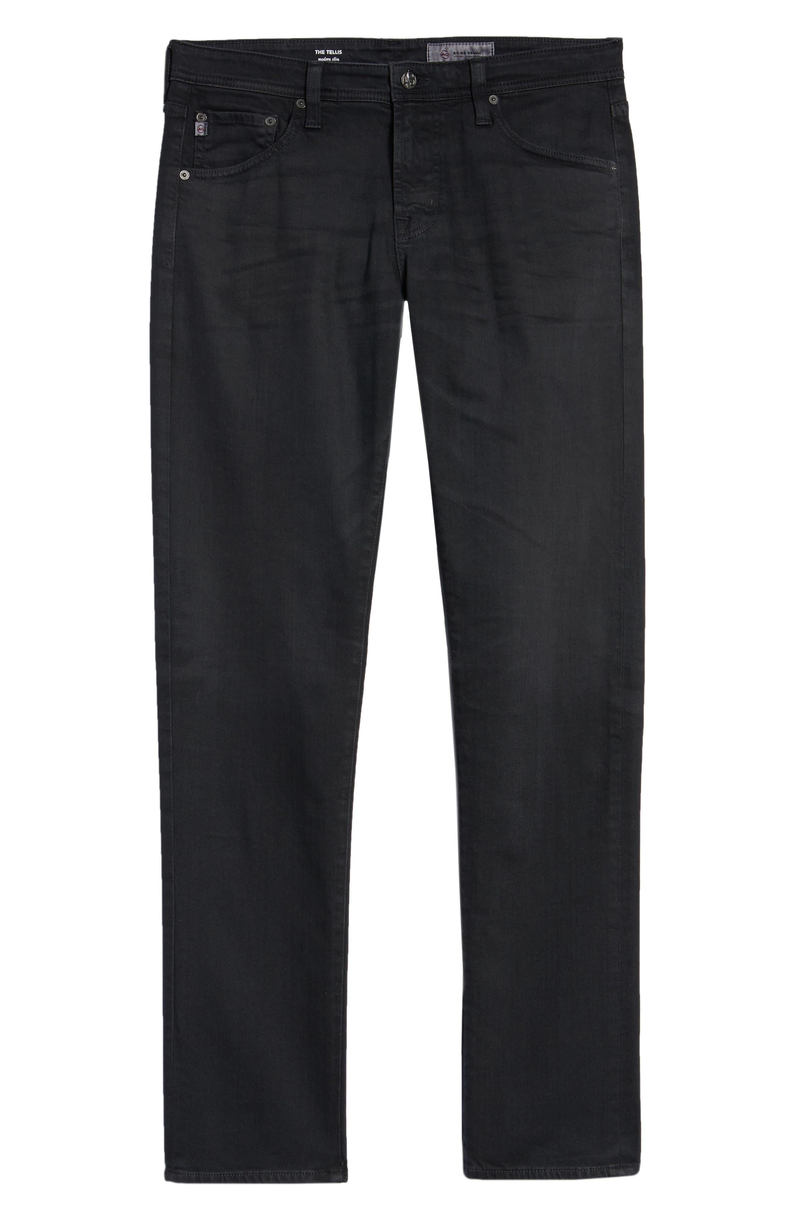 Tellis Slim Fit Jeans,                             Alternate thumbnail 6, color,                             7 YEARS GREY STONE