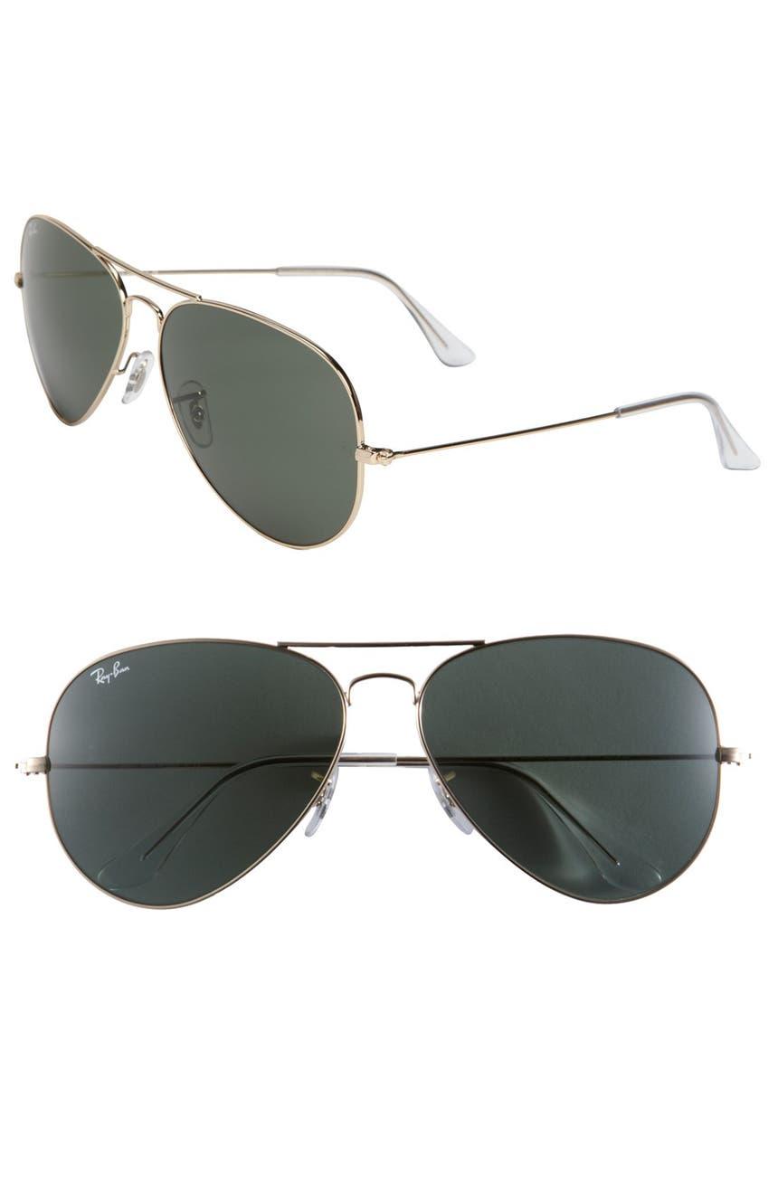98515819afd Ray-Ban Large Original 62mm Aviator Sunglasses