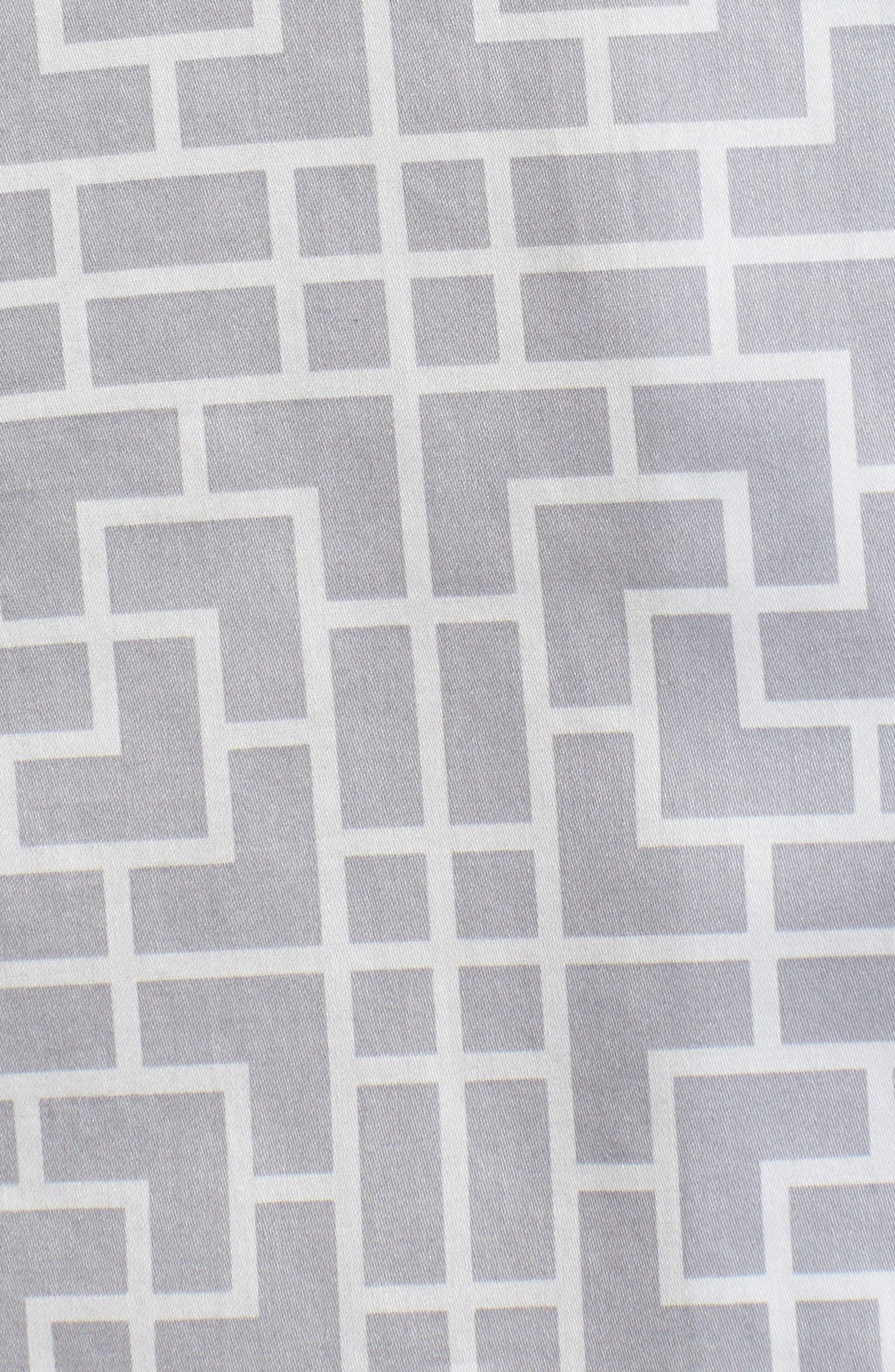Abstract Maze Sateen Pajamas,                             Alternate thumbnail 5, color,                             020