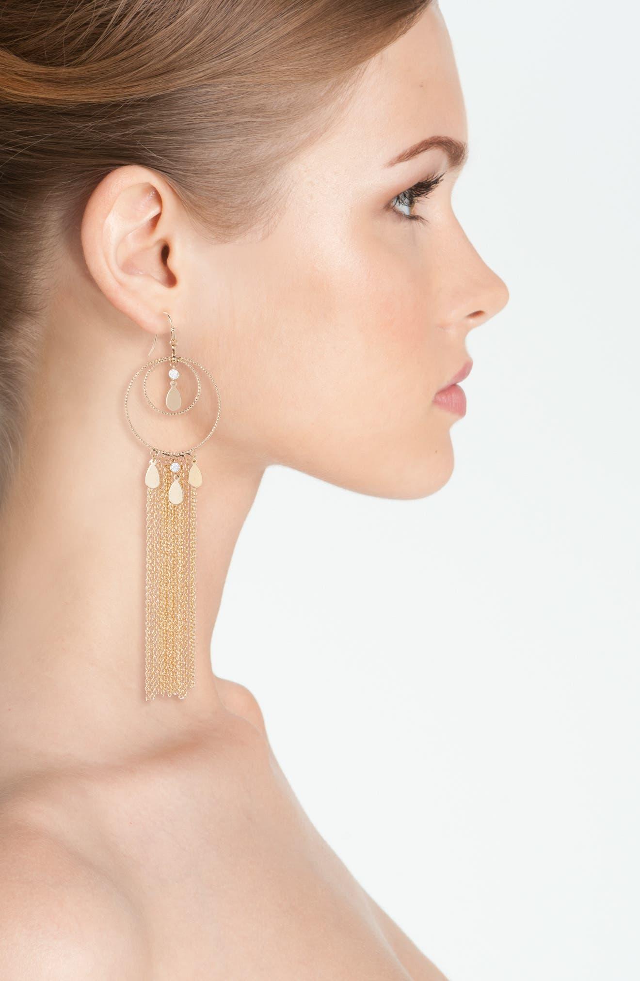 Carissa Drop Earrings,                             Alternate thumbnail 2, color,                             710