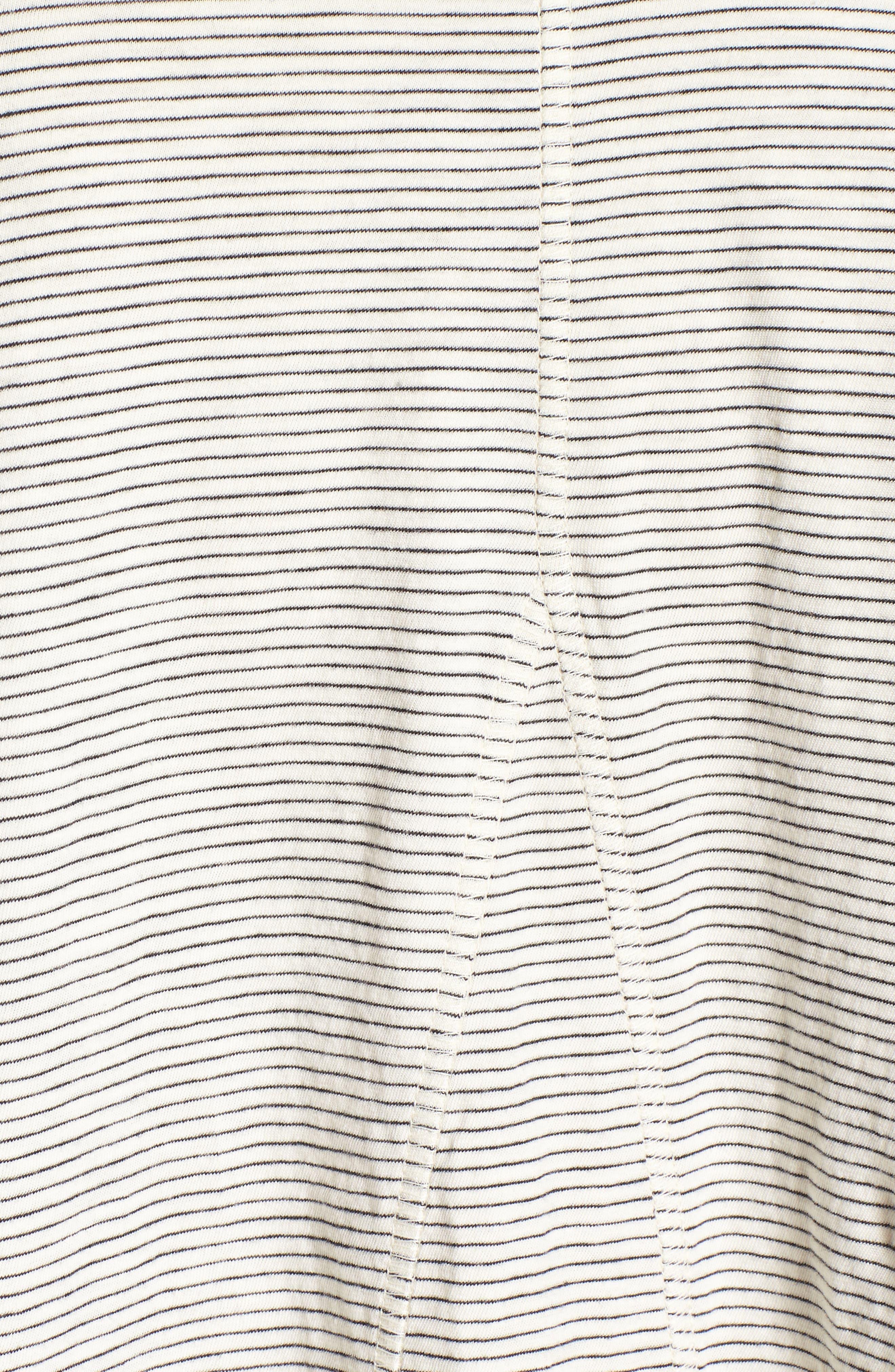Seamed Long Sleeve Tee,                             Alternate thumbnail 5, color,                             100