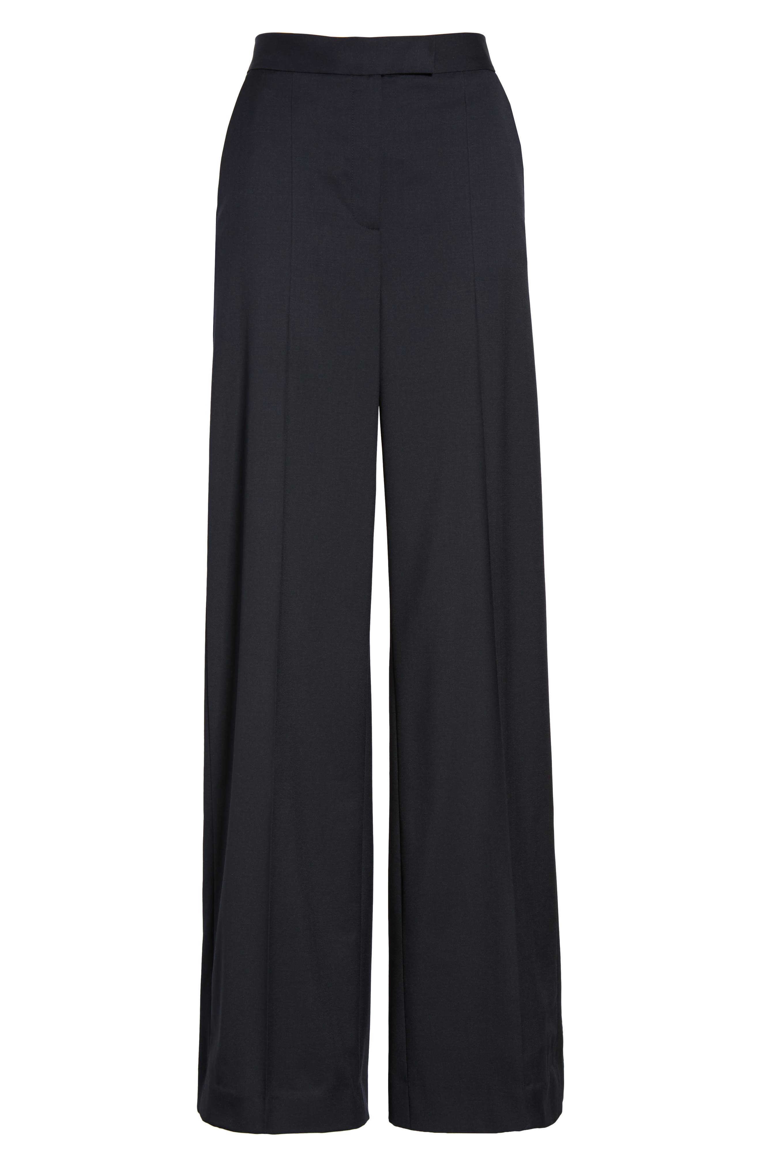 Wide Leg Trousers,                             Alternate thumbnail 6, color,                             410