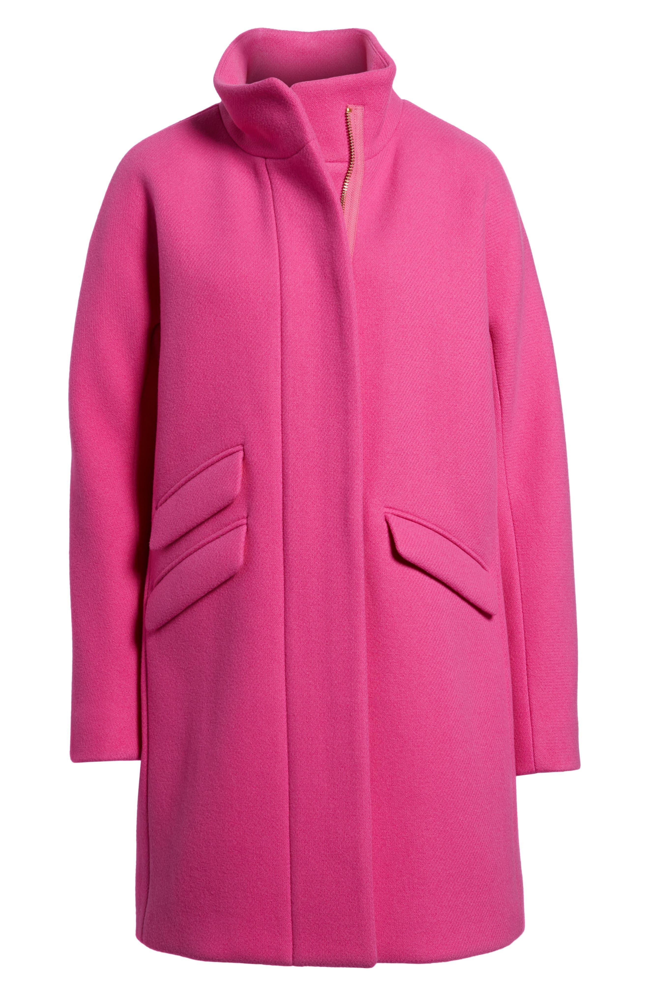 Stadium Cloth Cocoon Coat,                             Alternate thumbnail 49, color,
